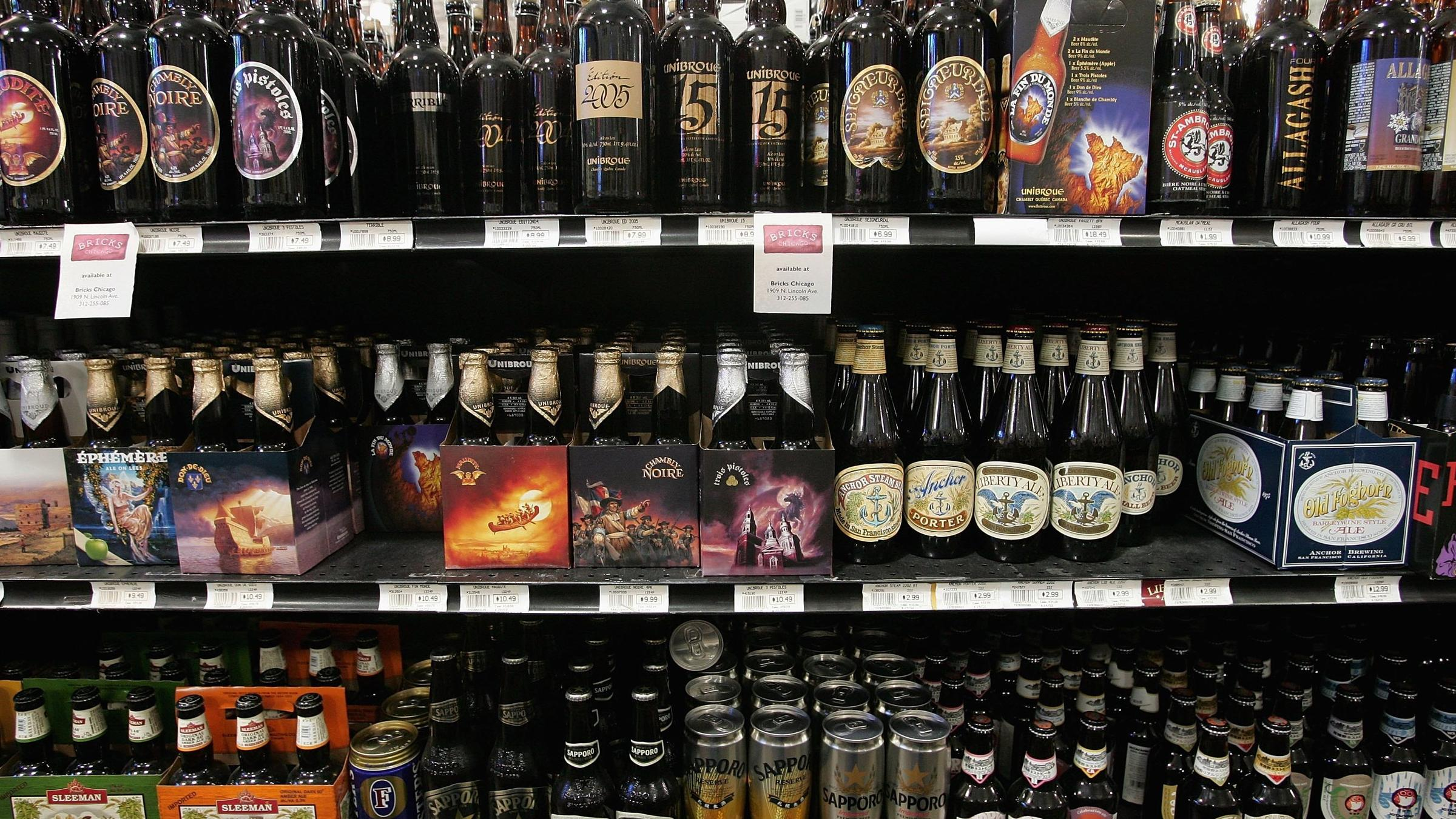 Craft Brews Slowly Chipping Away At Big Beer's Dominance | KDLG