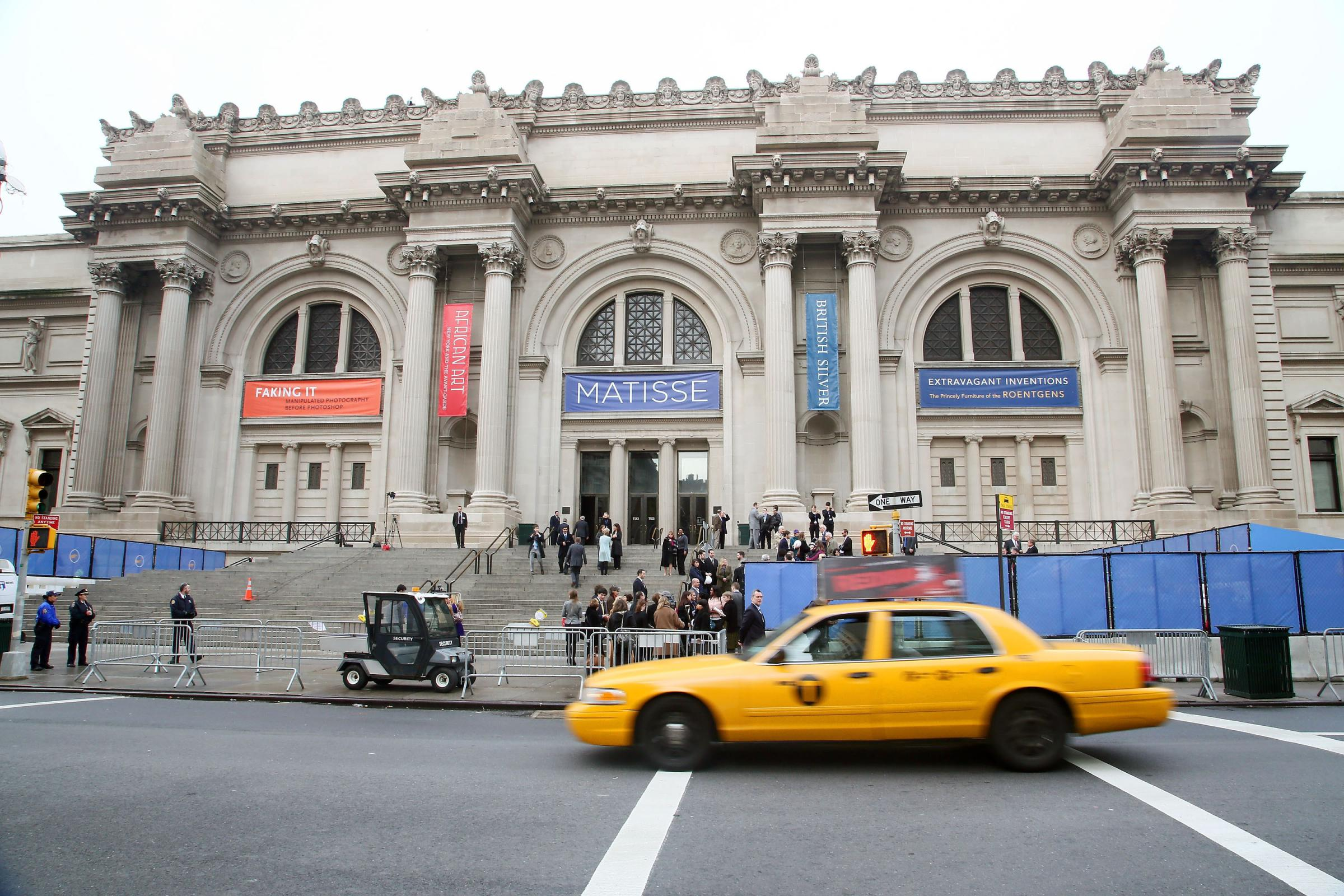 New York's Met Museum Is Sued Over 'Deceptive' Entrance Fees