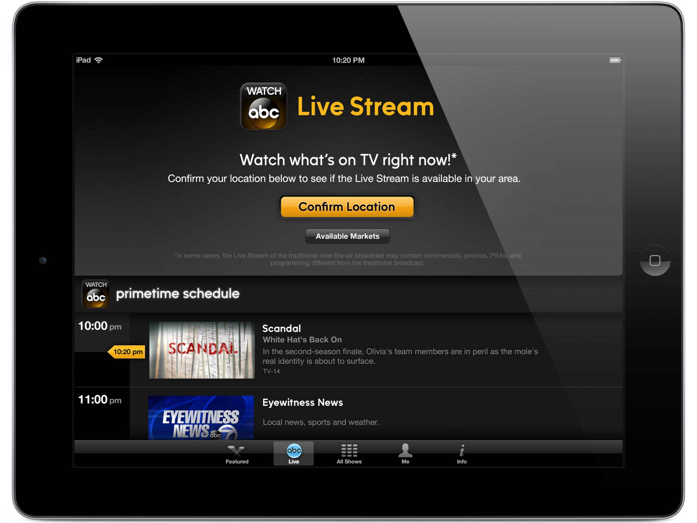 ABC's Live Streaming Aimed At Keeping Cable Cords Intact | Iowa