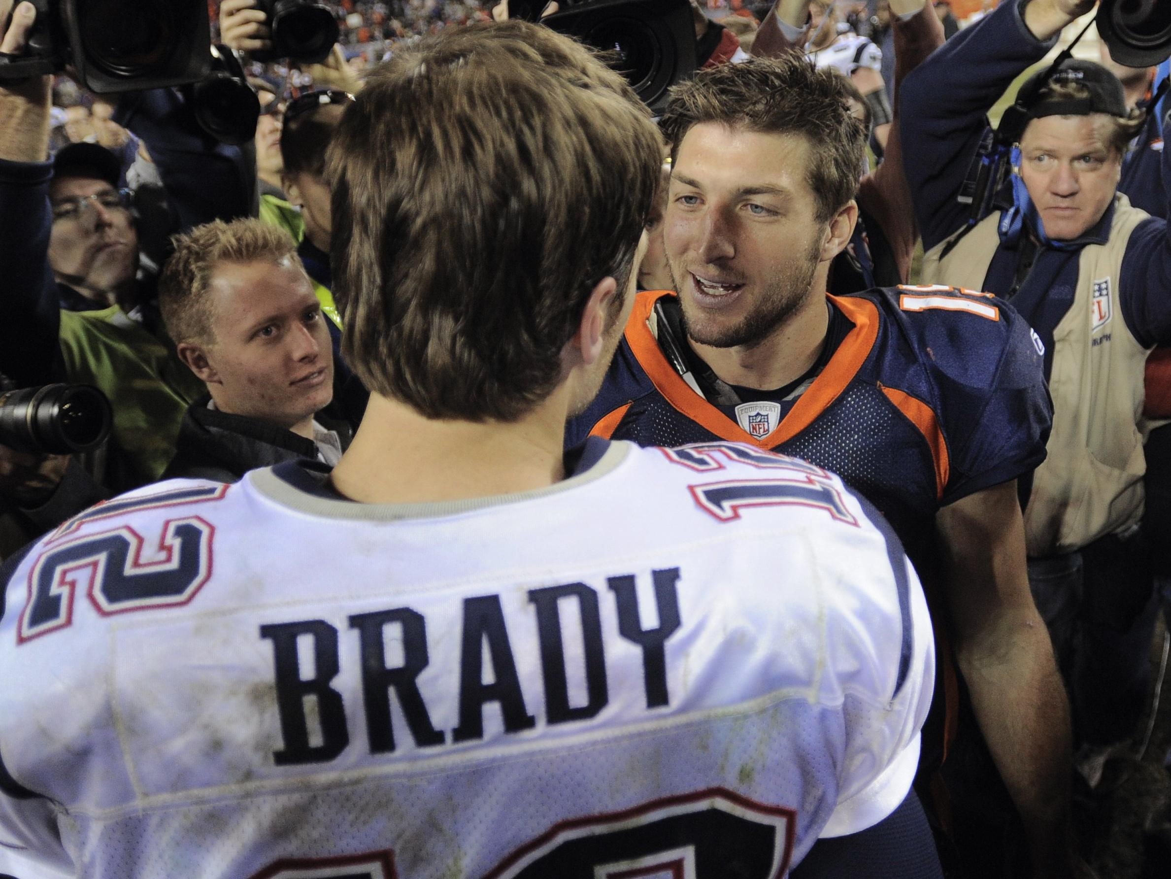 official photos c5a42 5bf52 Is New England The Right Fit For Tim Tebow? | KUNC