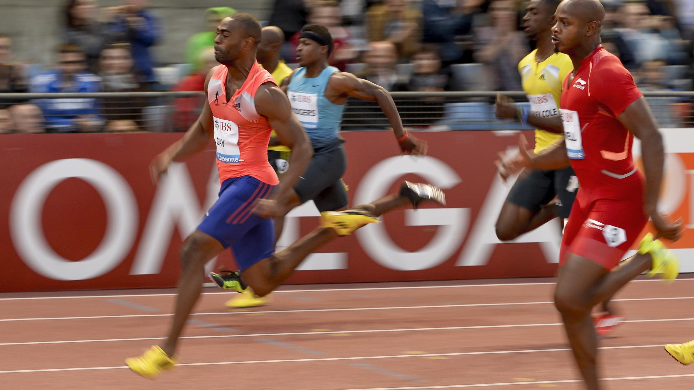 Report Links Sprinter Tyson Gay's Doping To Anti-Aging Cream