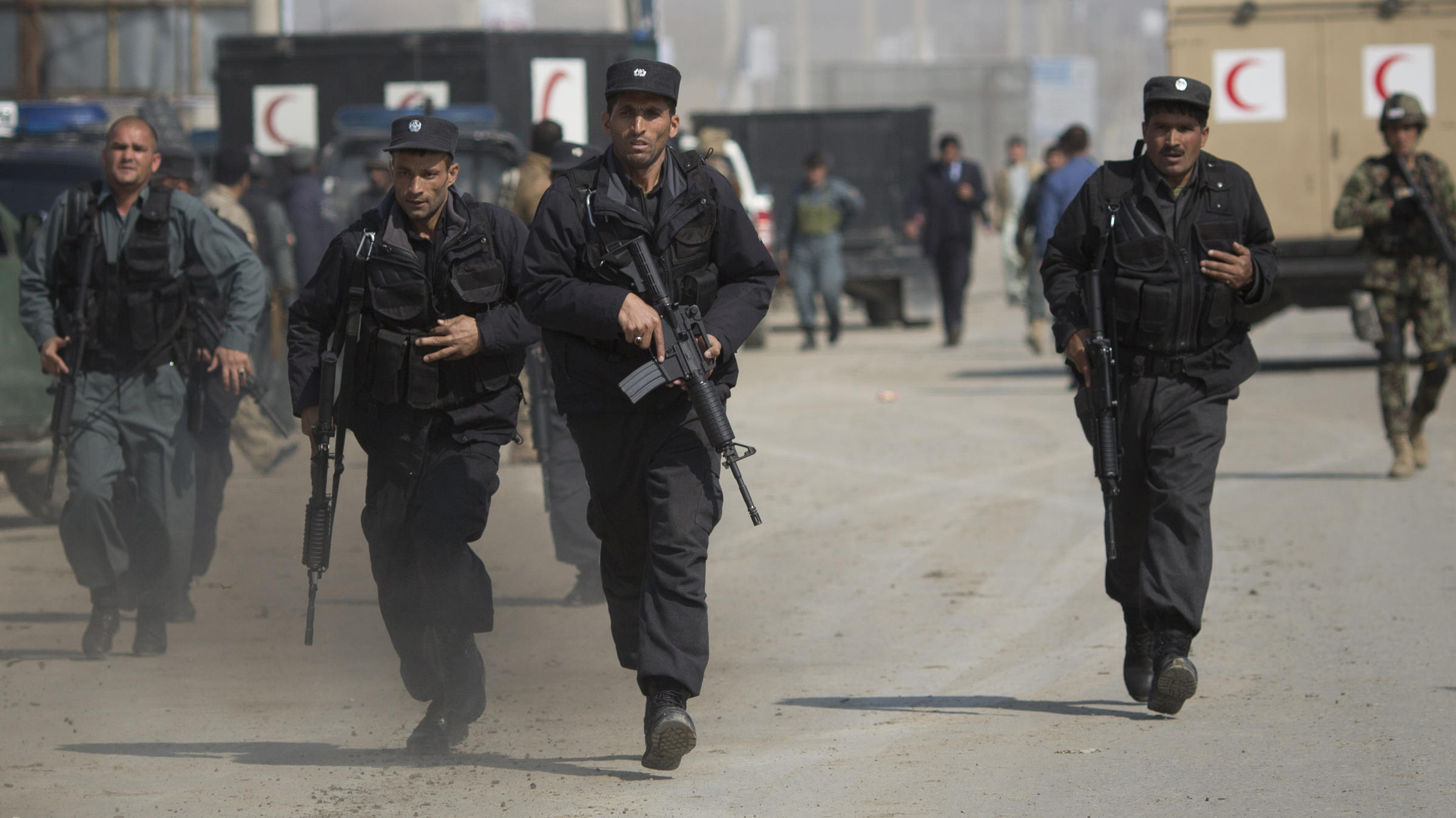 Taliban Attack On Election HQ Makes Good On Campaign