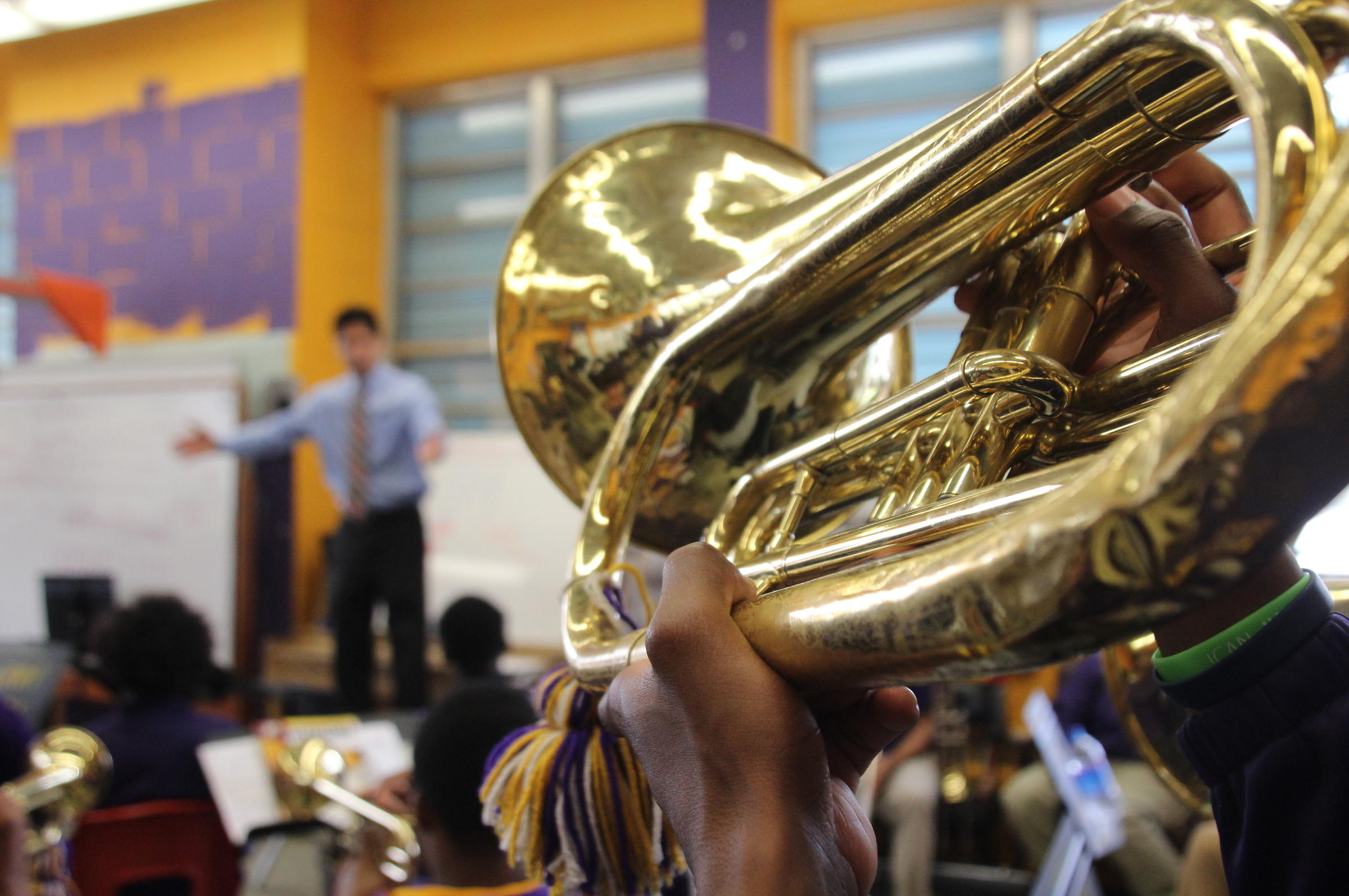 At A New Orleans High School, Marching Band Is A Lifeline