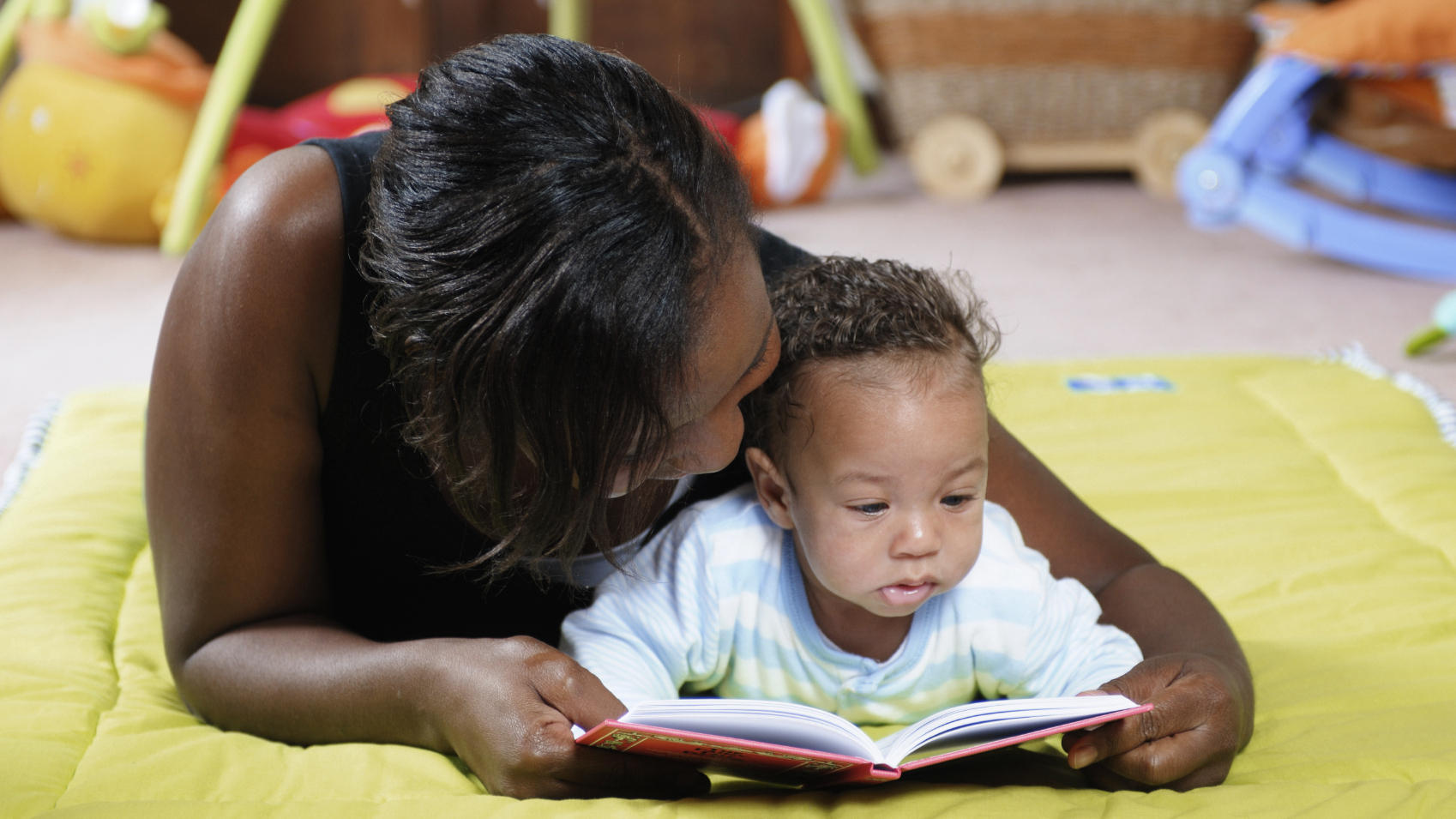 Never Too Young: Pediatricians Say Parents Should Read To