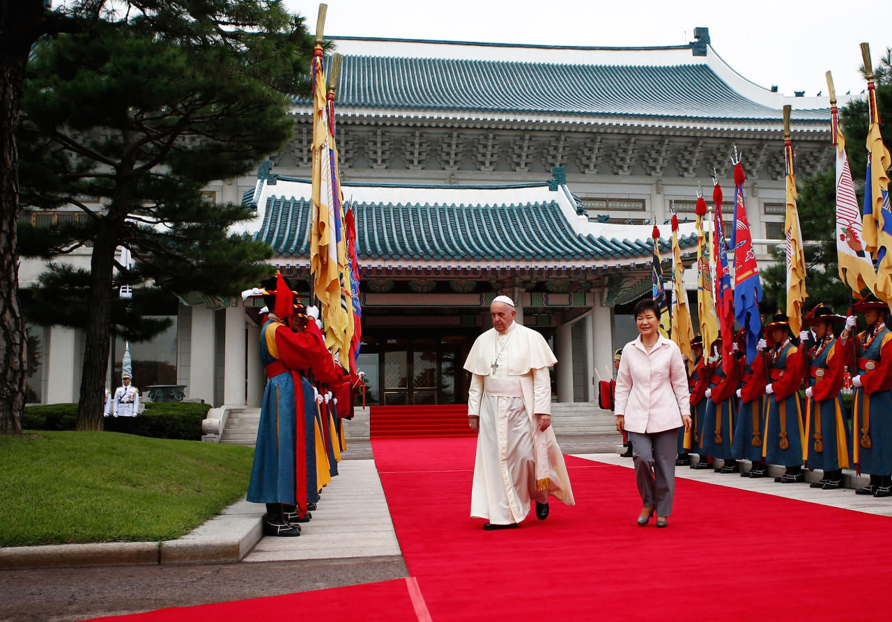 Pope Calls For North And South Korean Peace 88 9 Ketr