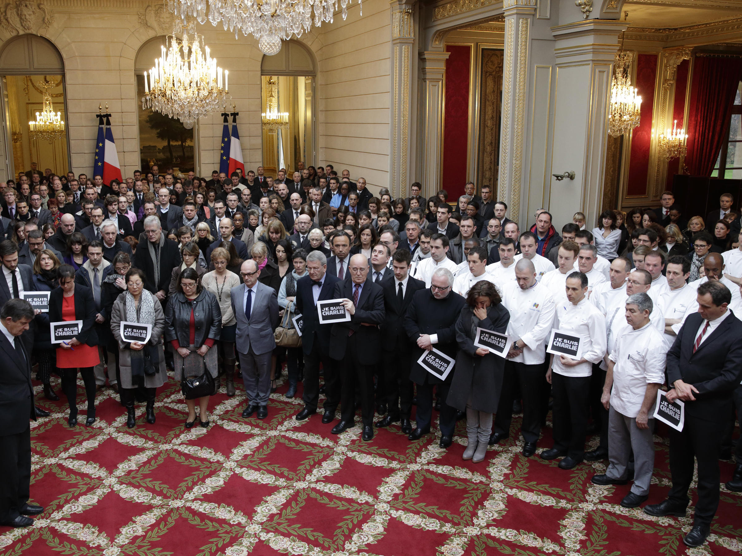 France Observes Moment Of Silence For Charlie Hebdo Victims Connecticut Public Radio