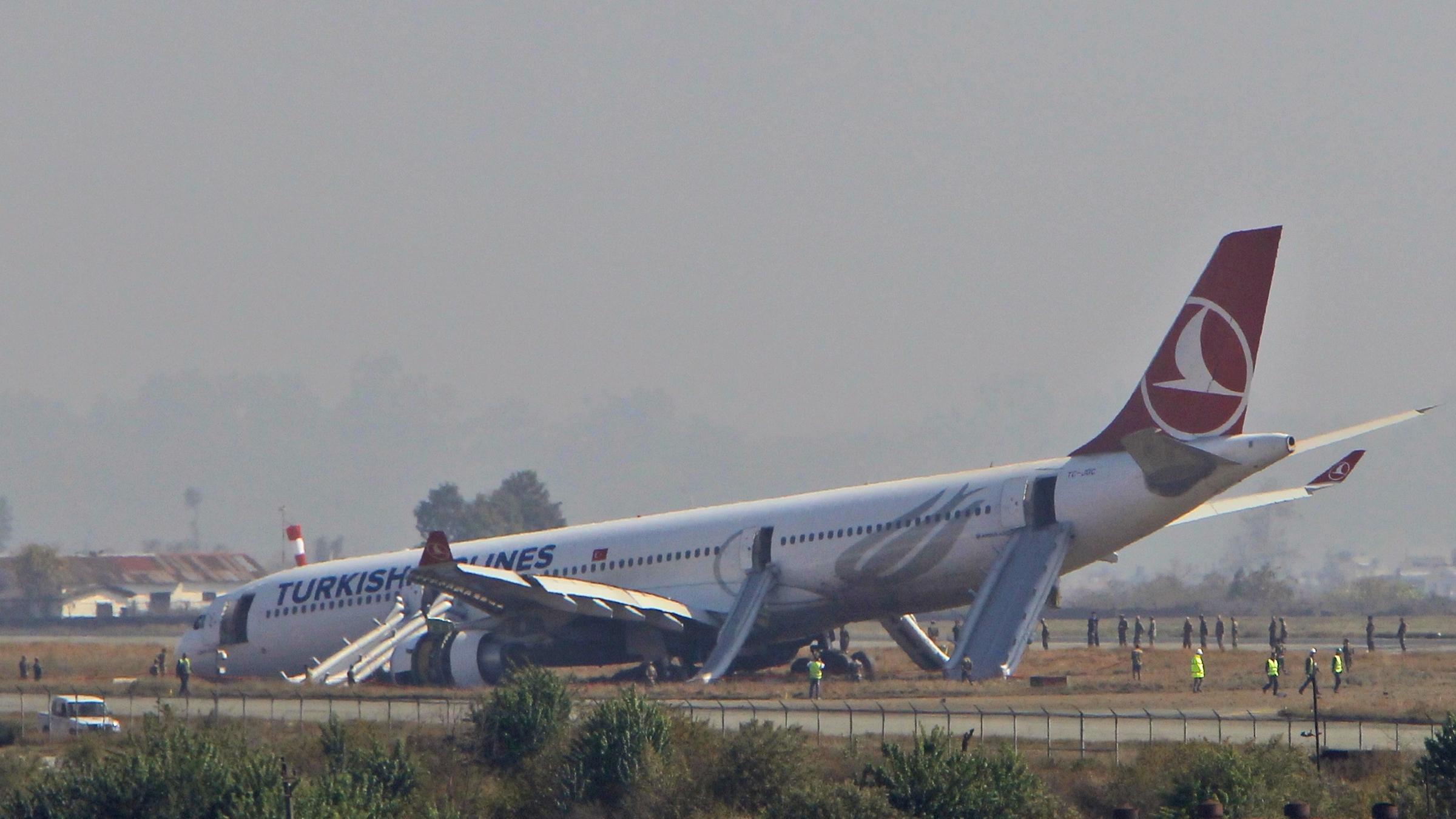 Turkish Airlines' Near Miss Creates Big Problem At Kathmandu's Tiny