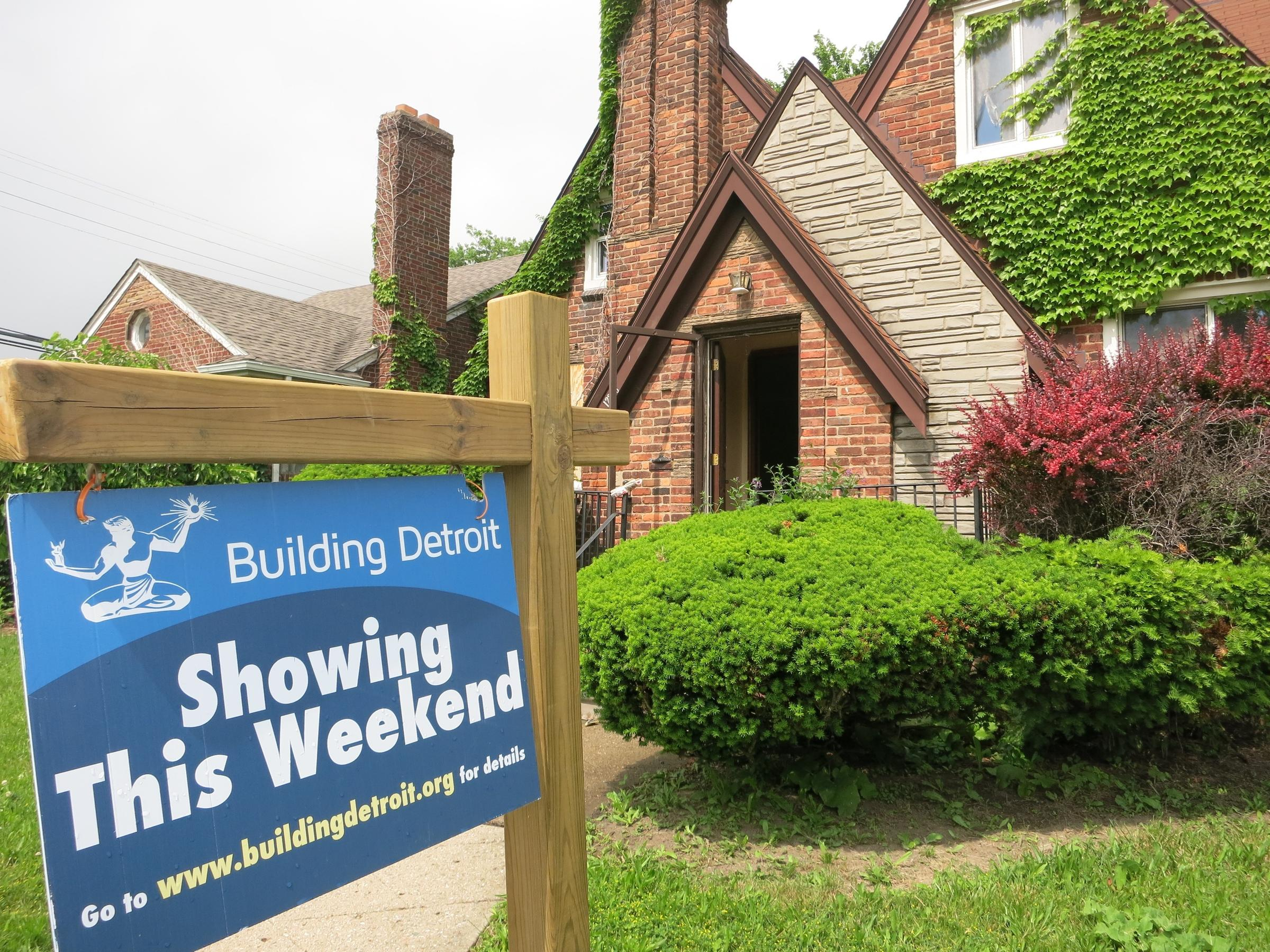 For Sale: Detroit Land Bank Seeks Buyers For Vacant Houses | WOSU Radio