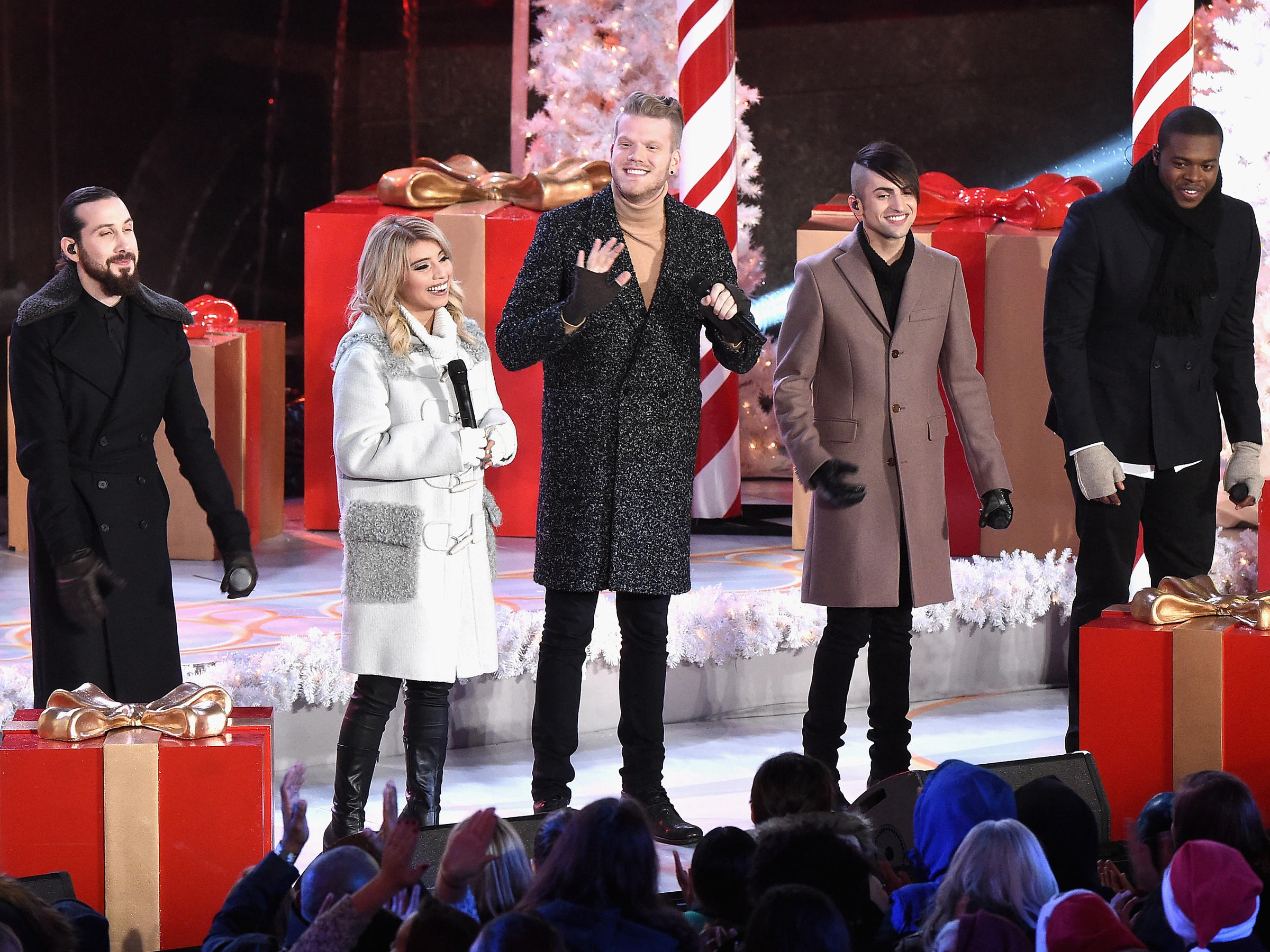 Fresh Off A Grammy Nod, Pentatonix Gets Back In The Christmas Spirit