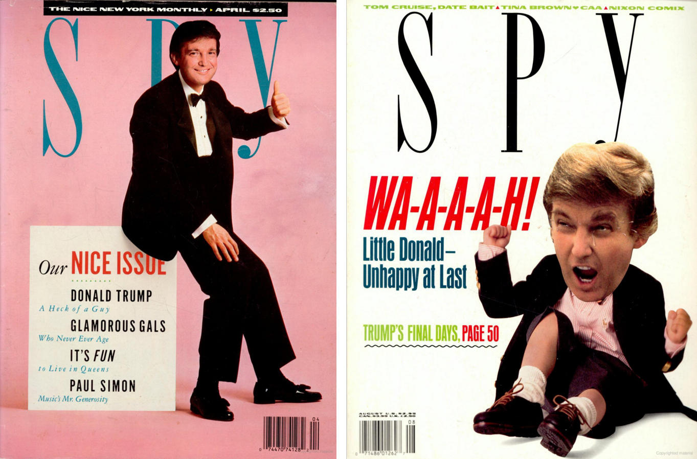 Decades Later, 'Spy' Magazine Founders Continue To Torment