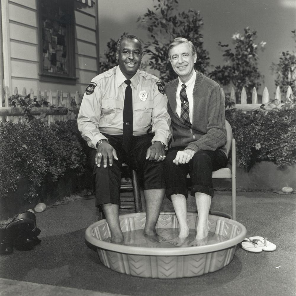 Walking The Beat In Mr Rogers Neighborhood Where A New Day Began Together Texas Public Radio