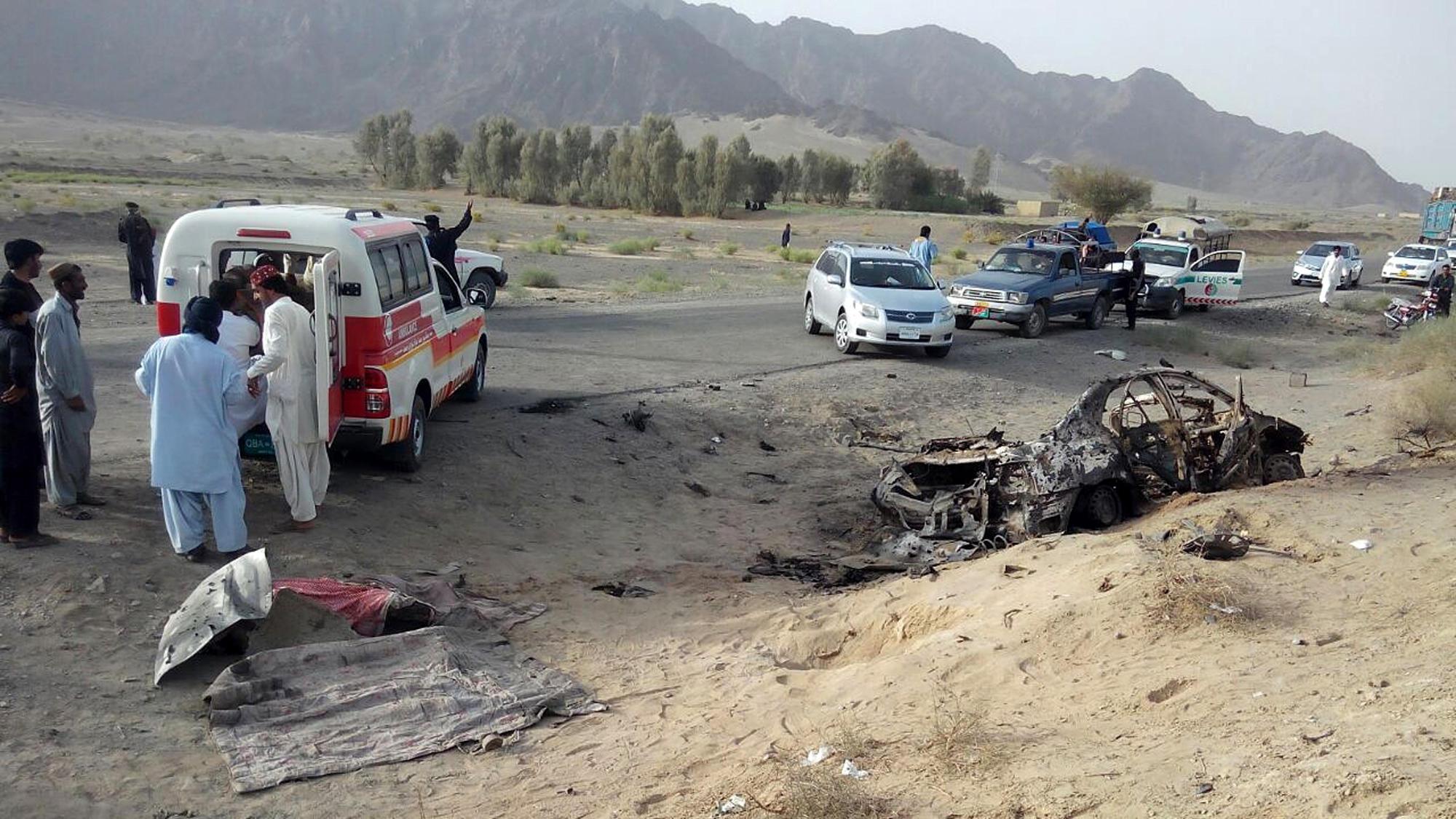"Image result for US Drone Strike Kills Taliban Commander And Over 60 Innocent Afghan Civilians"""