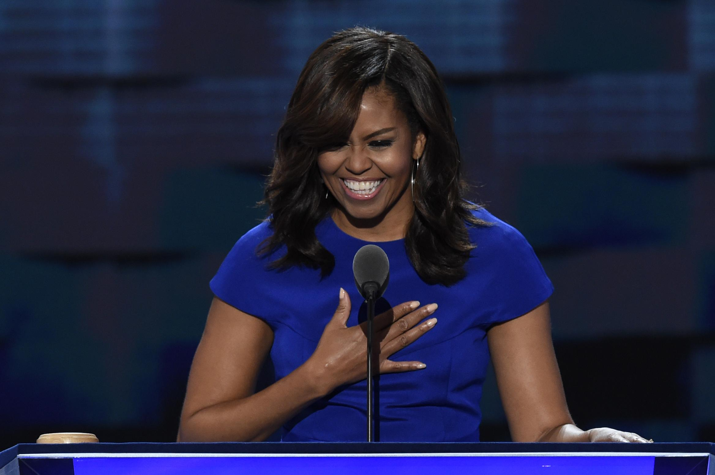 READ: Michelle Obama's Speech At 2016 Democratic National