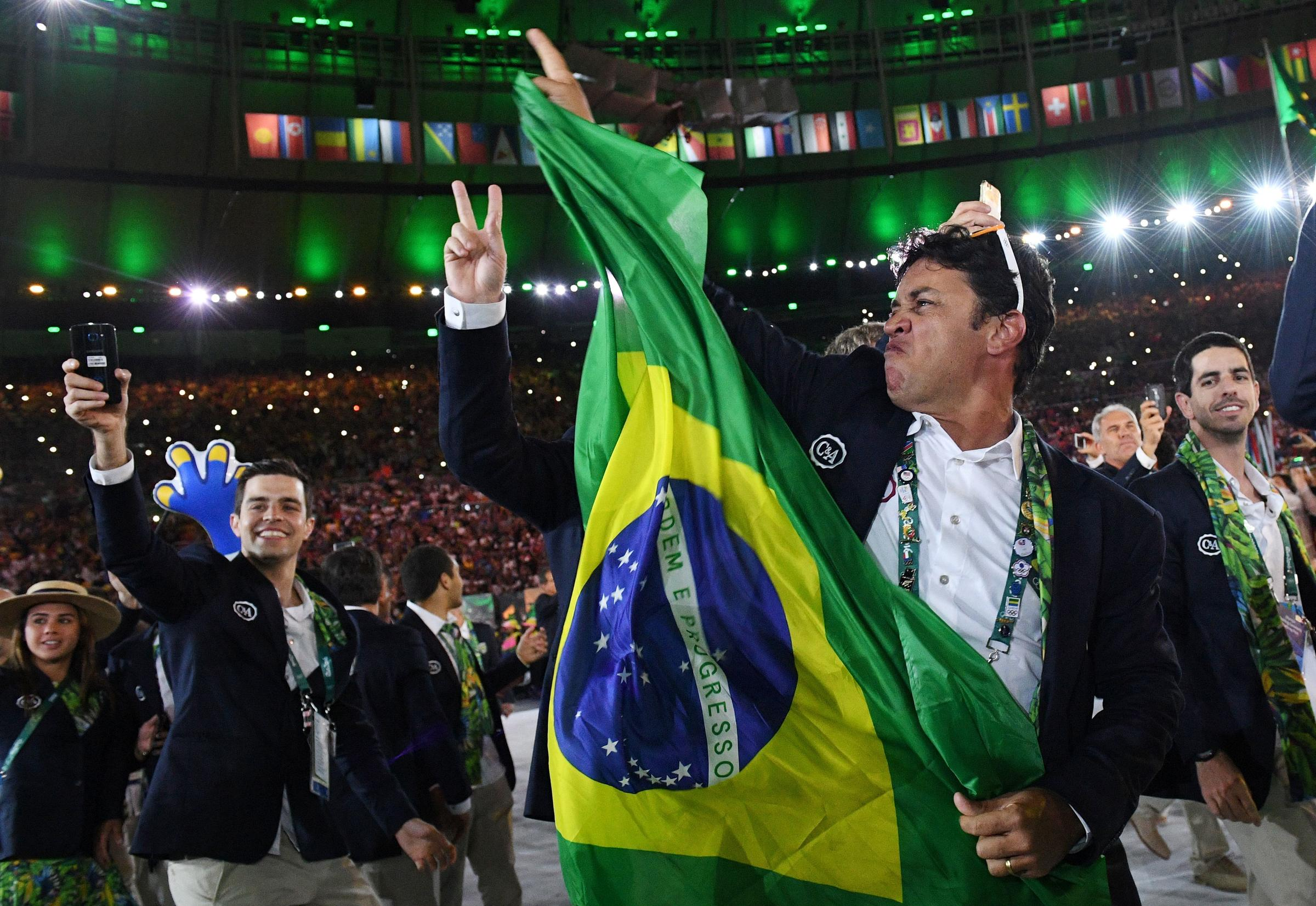 Rio Throws A Party For The World, Kicking Off The 2016 Olympics