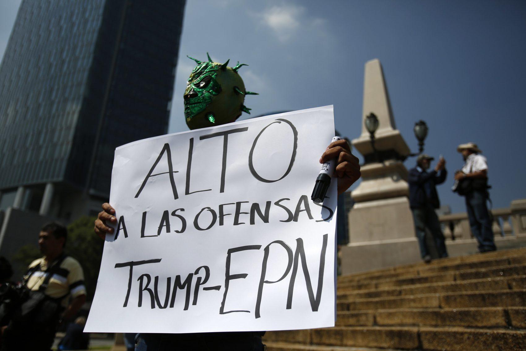 Mexicans Call Trump Visit A 'National Humiliation' | WOSU Radio