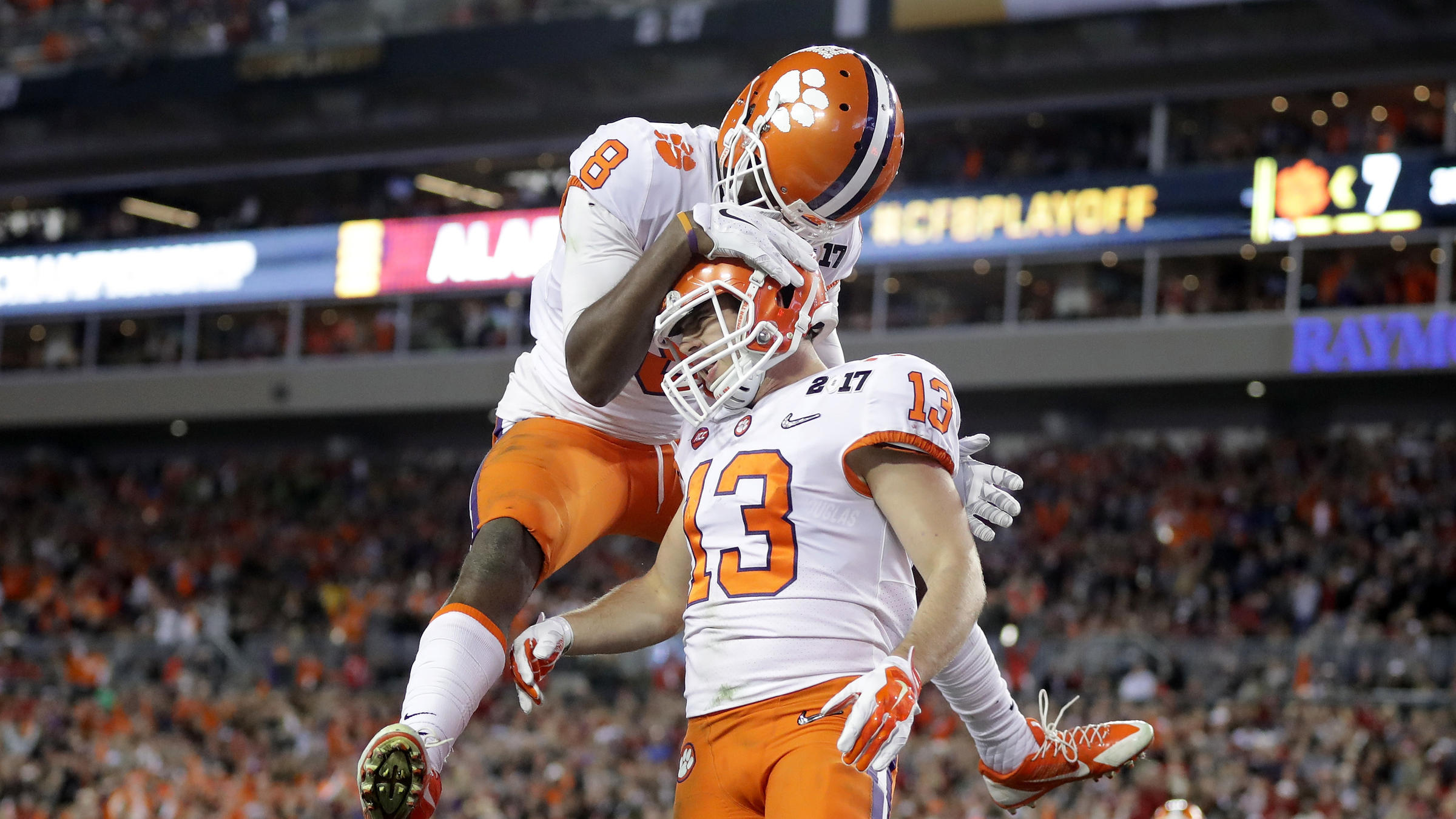 promo code e1908 b1205 With Last-Second Play, Clemson Beats Alabama For College ...