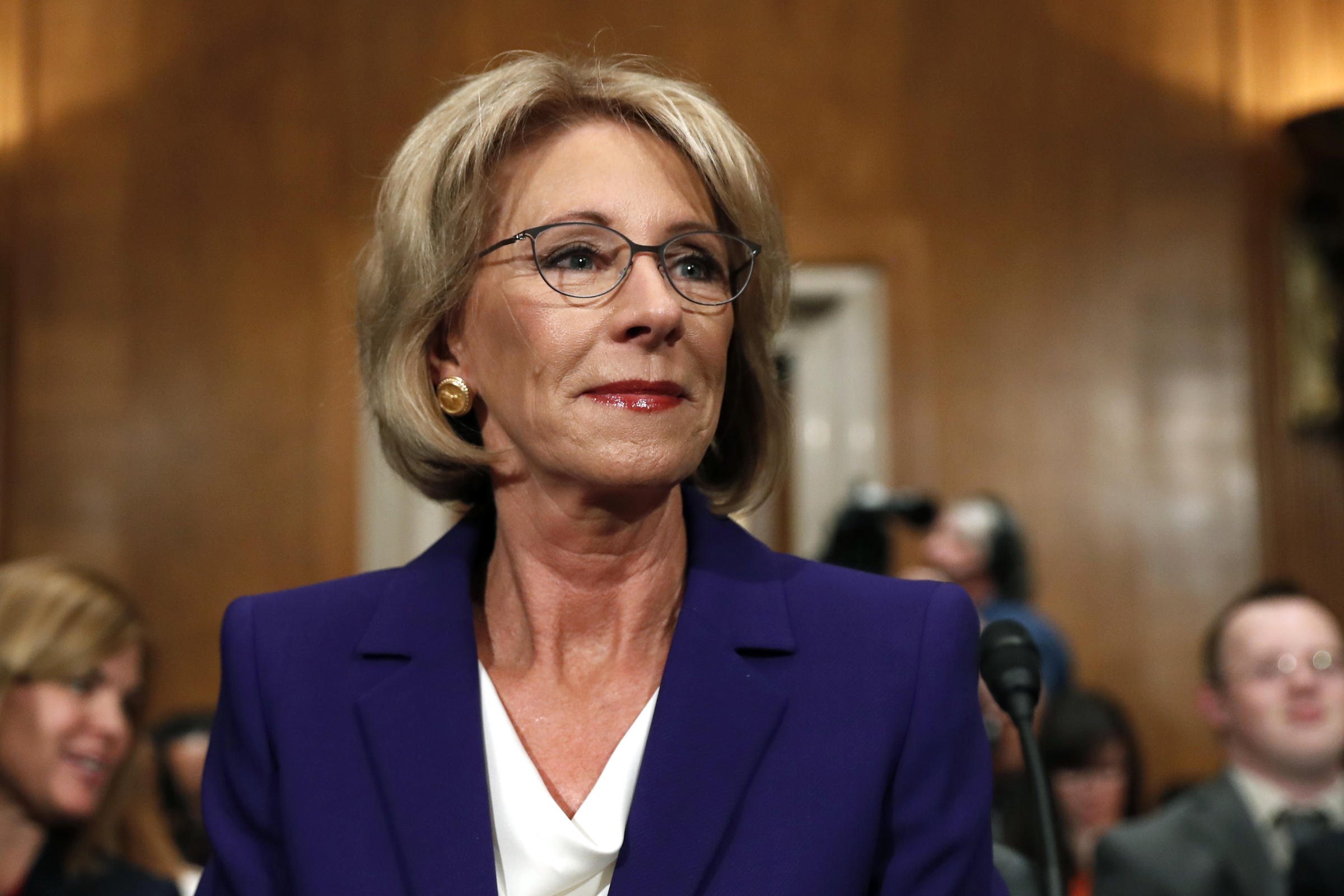 Image result for U.S. Secretary of Education Betsy DeVos: President Right to Call for Expanded Education Freedom