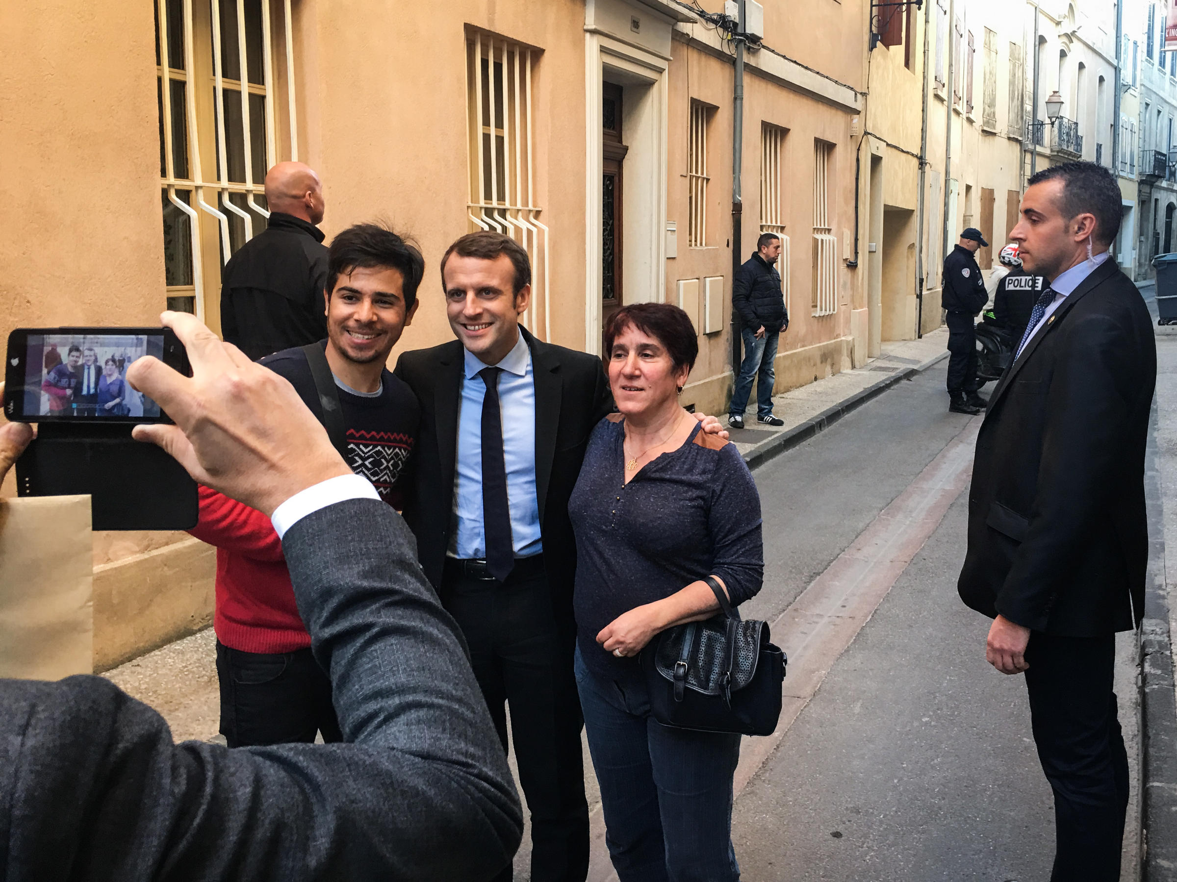 Political Outsider Emmanuel Macron Campaigns To Make France Daring Again New England Public Media