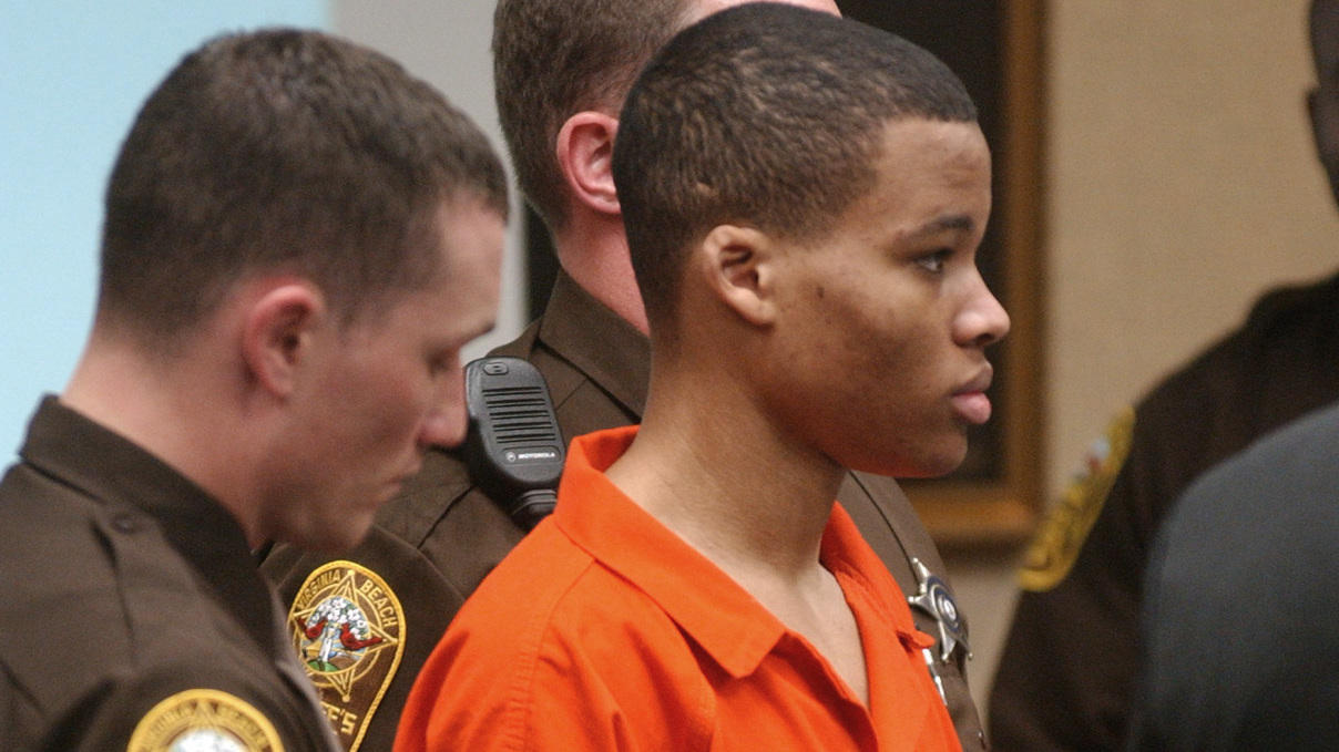 Life-Without-Parole Sentences For D C  Sniper Thrown Out By