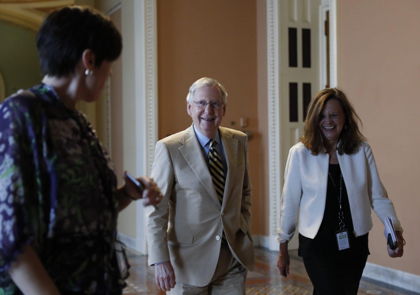 In Wake Of Cbo Score Mcconnell Delays Vote On Senate Health Care Bill New Hampshire Public Radio