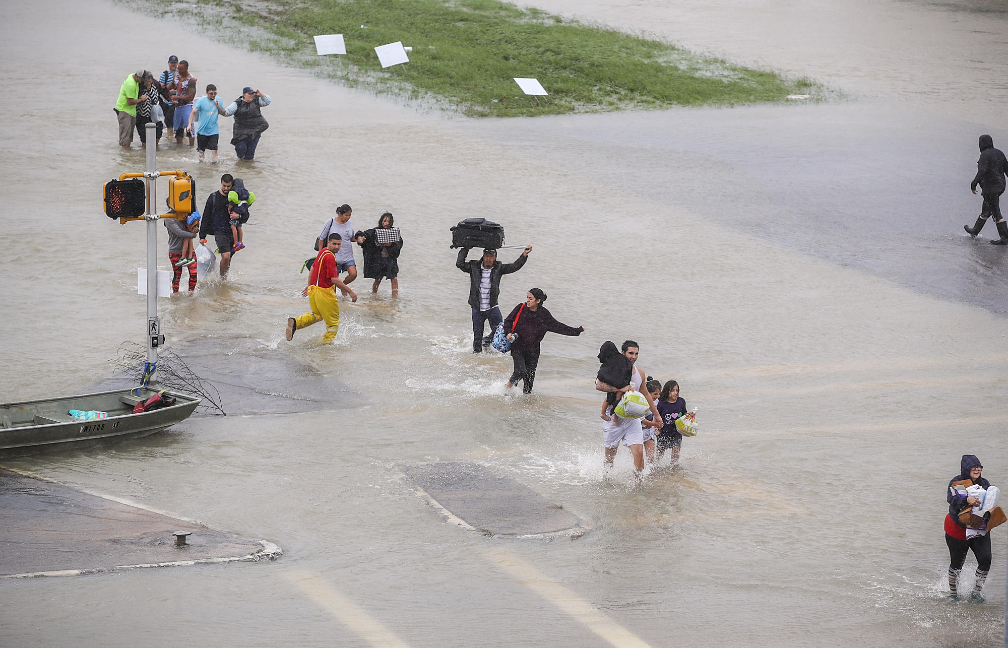 Stay Out Of Flood Water, Texas Health Officials Urge