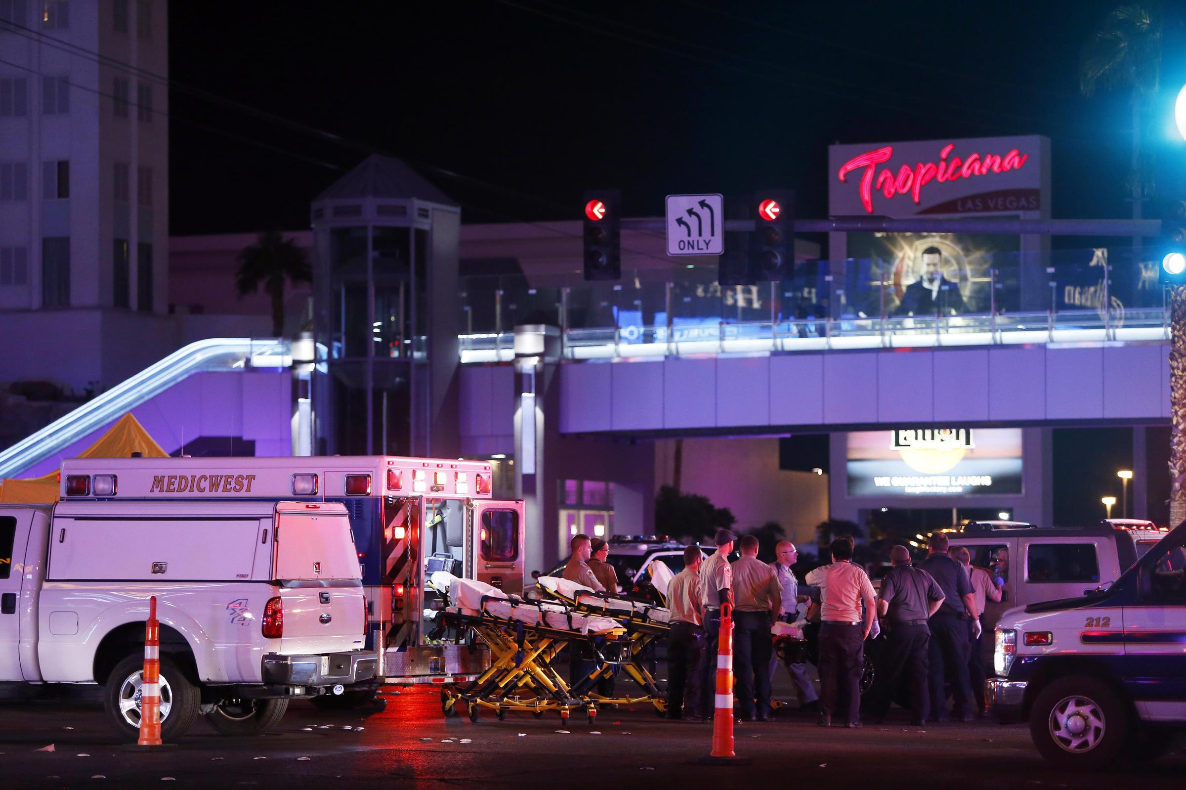 Las Vegas Shooting Update: At Least 59 People Are Dead After Gunman