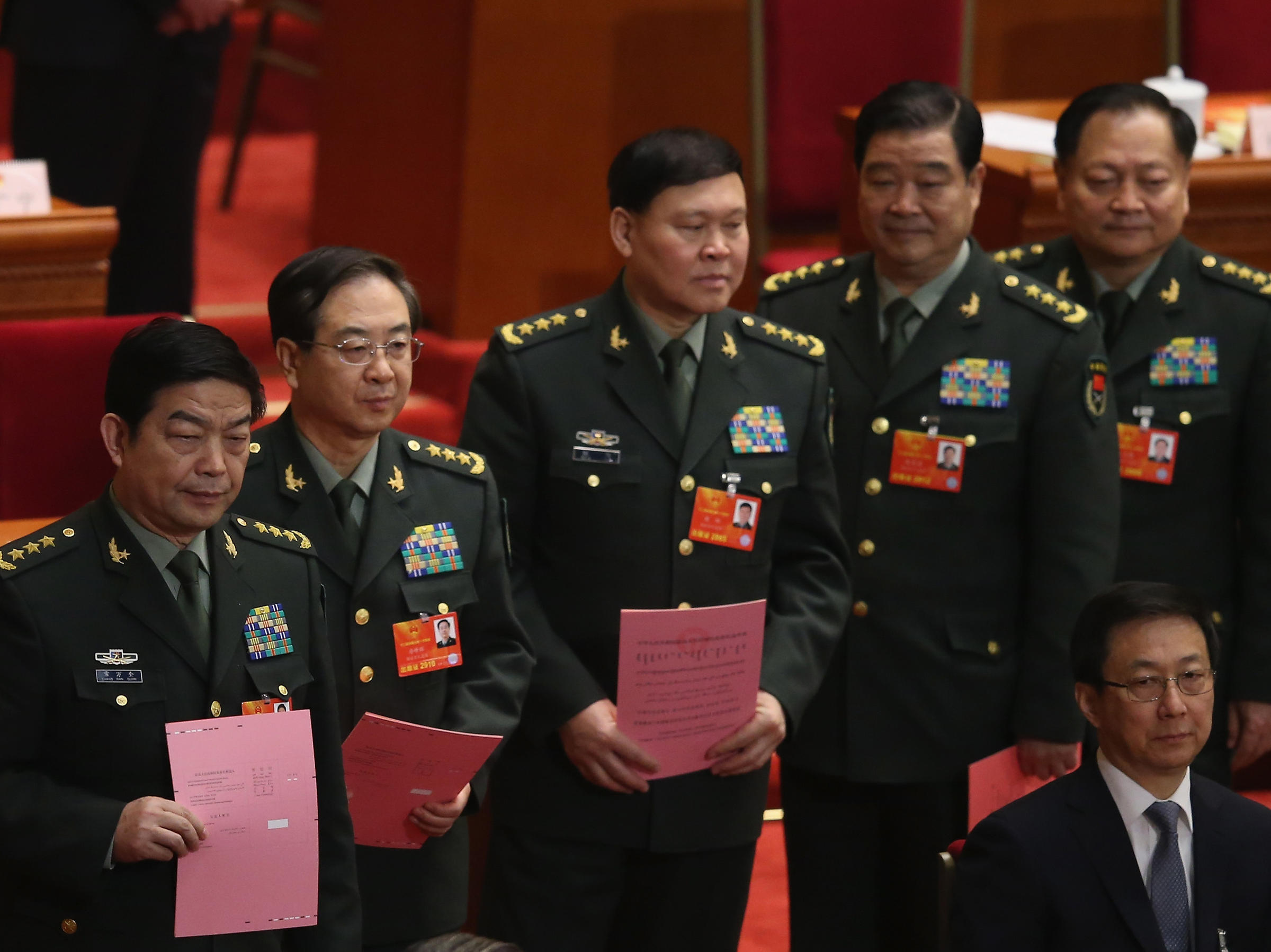 Former Top Chinese General Commits Suicide As Corruption