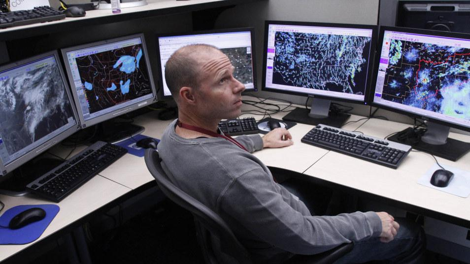 At The Center Of The Storm, Trackers Stay On Guard   KUNC