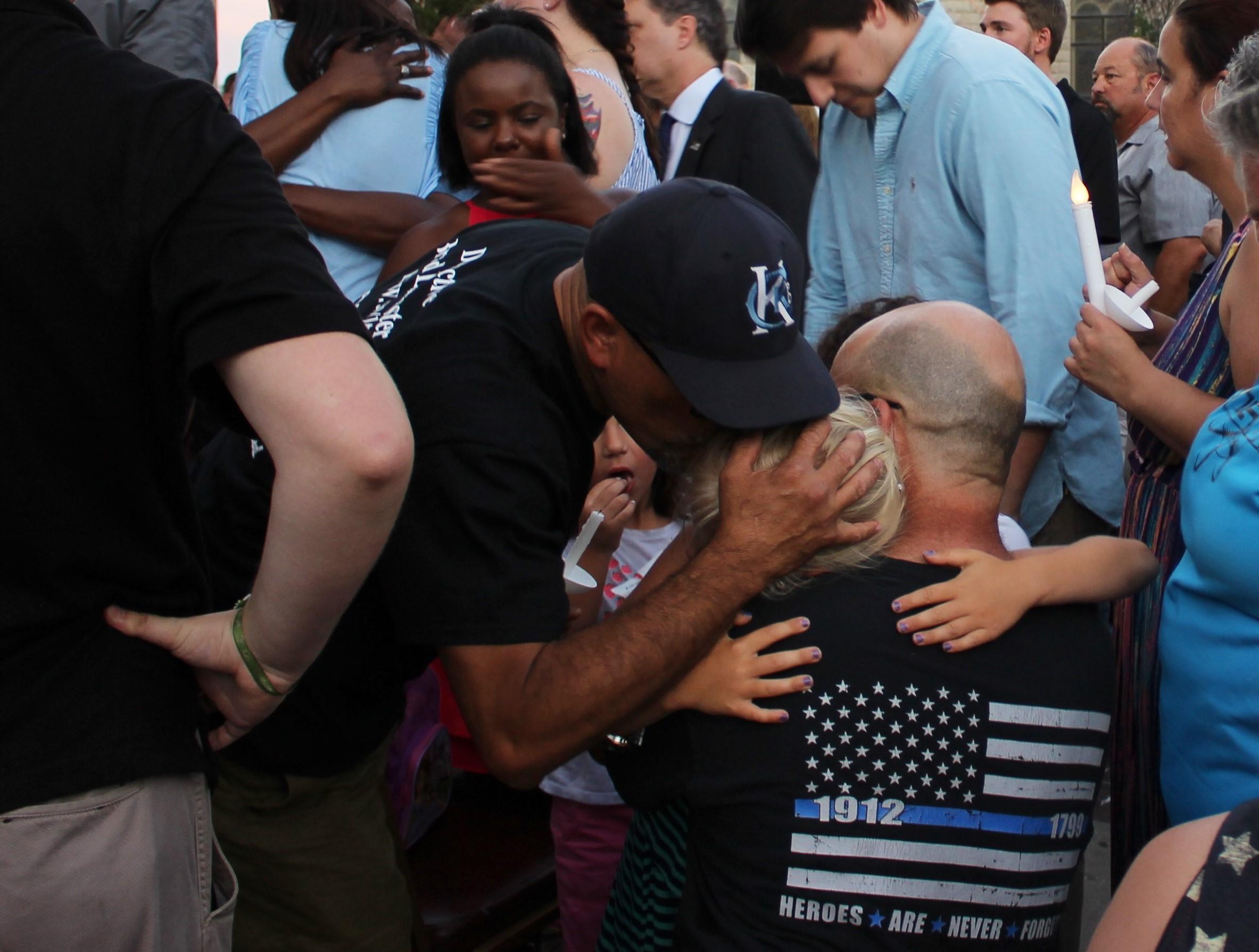 Sorrow But 'Sense Of Pride' At Vigil For Slain Wyandotte