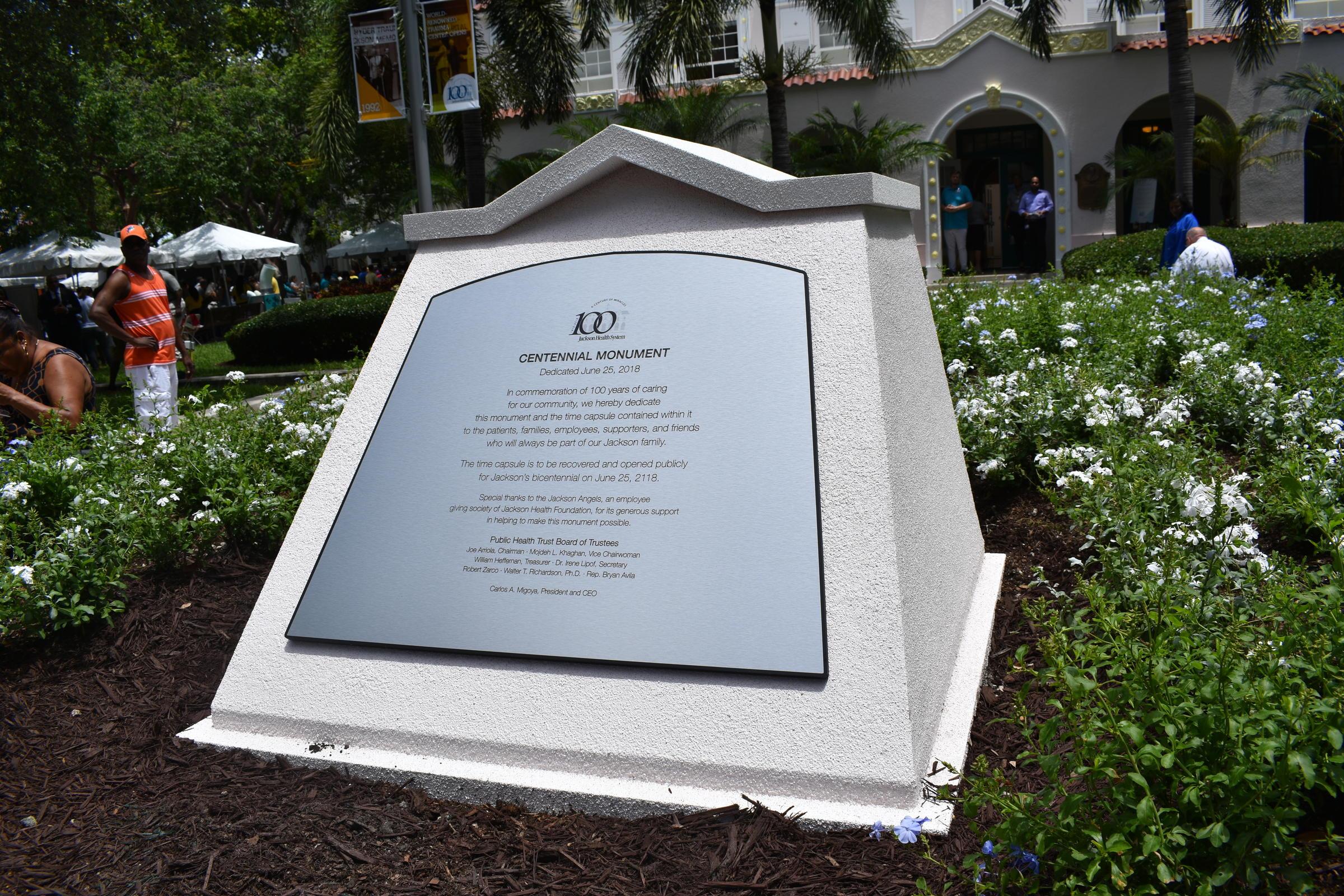 History Lives On At Jackson Memorial Hospital's Centennial