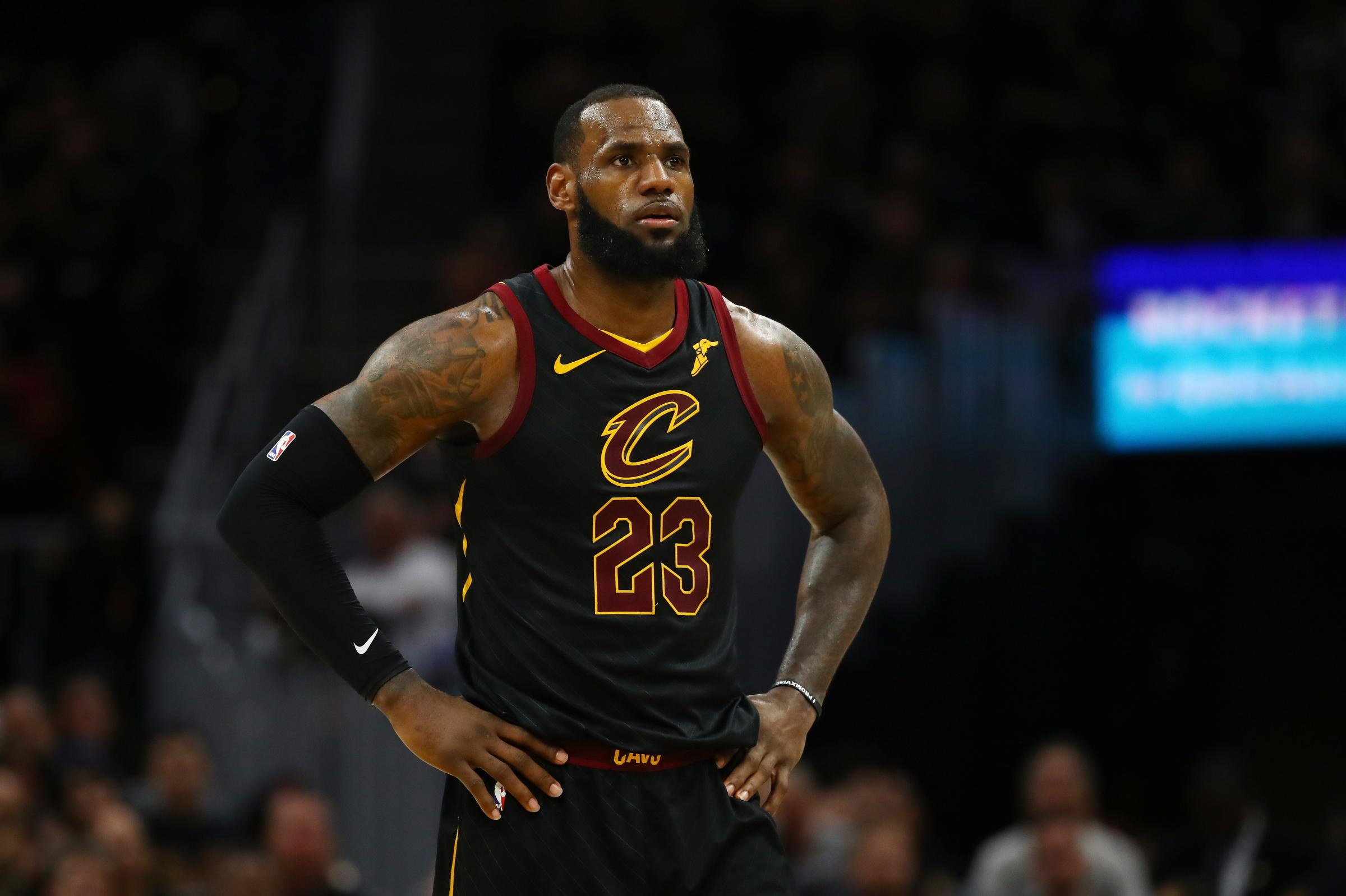 image about Cleveland Cavaliers Printable Schedule named LeBron James Toward Depart Cleveland For The Los Angeles Lakers