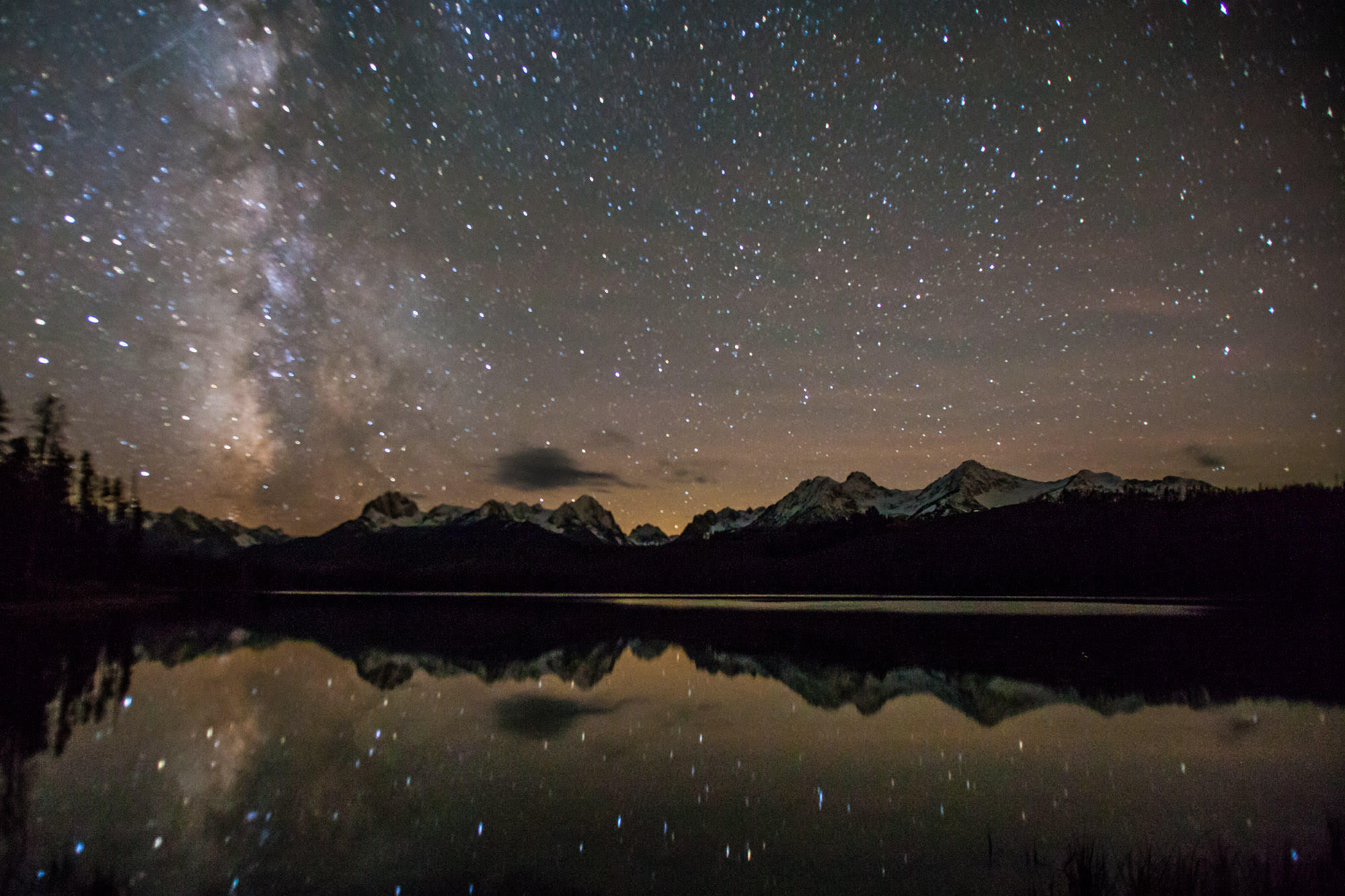 One Of The Darkest Places In The World Is Idahos Night Sky Reserve - Darkest-places-in-the-us-map