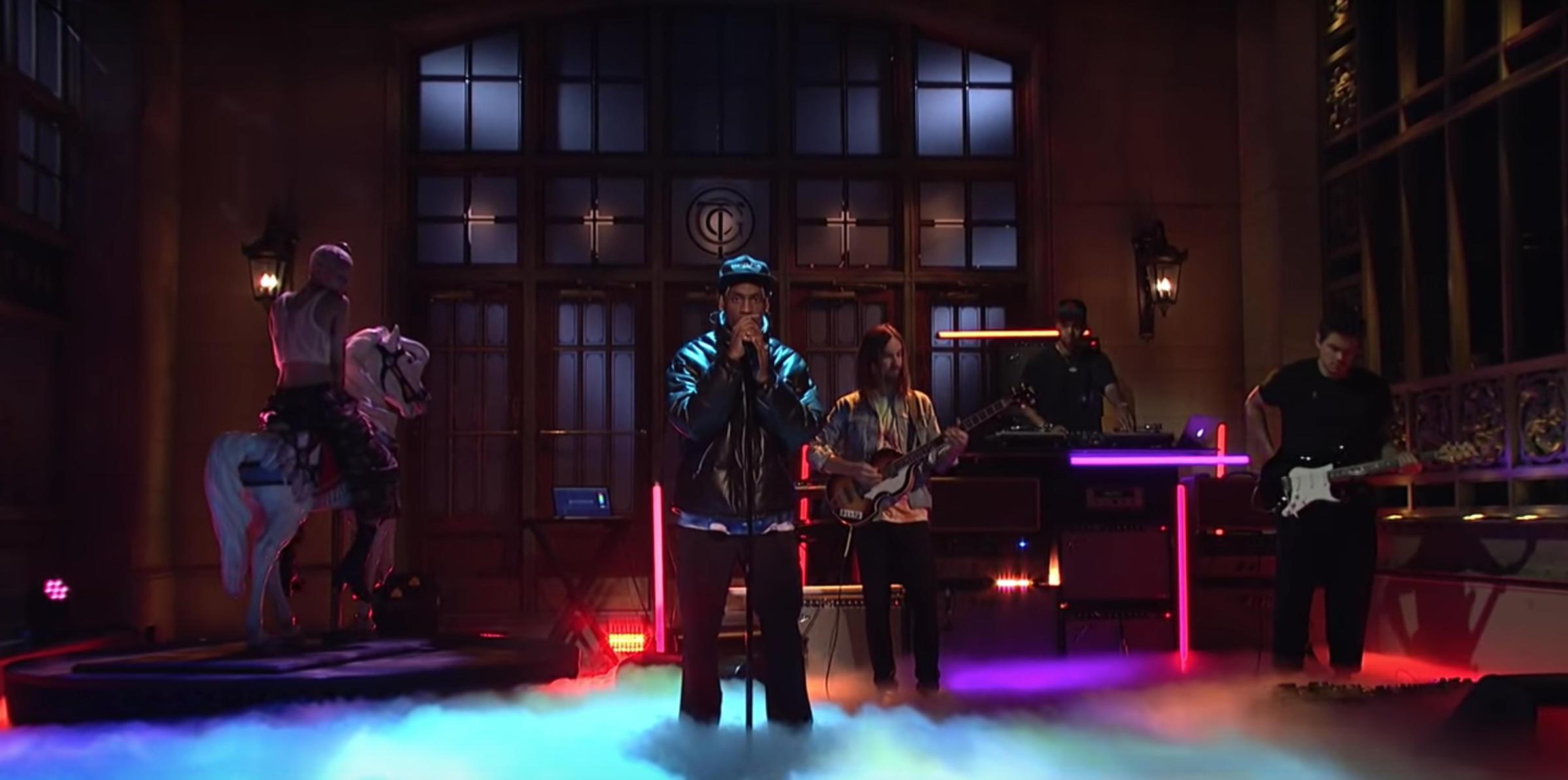 95a00731ce9e Travis Scott Recruits Tame Impala And John Mayer For 'SNL' | WBGO