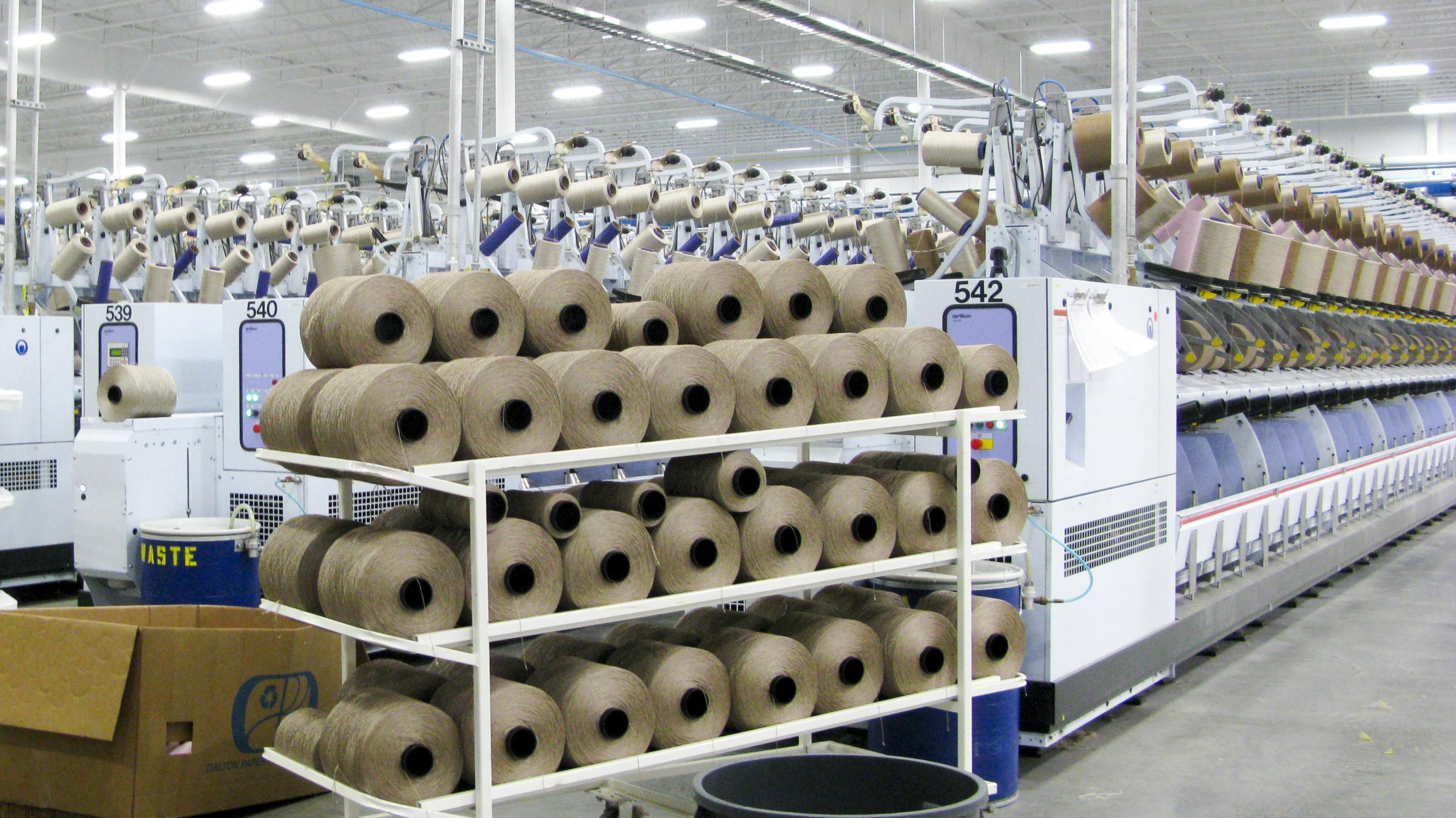 New Carpet Factories Help Cushion Blows From Recession