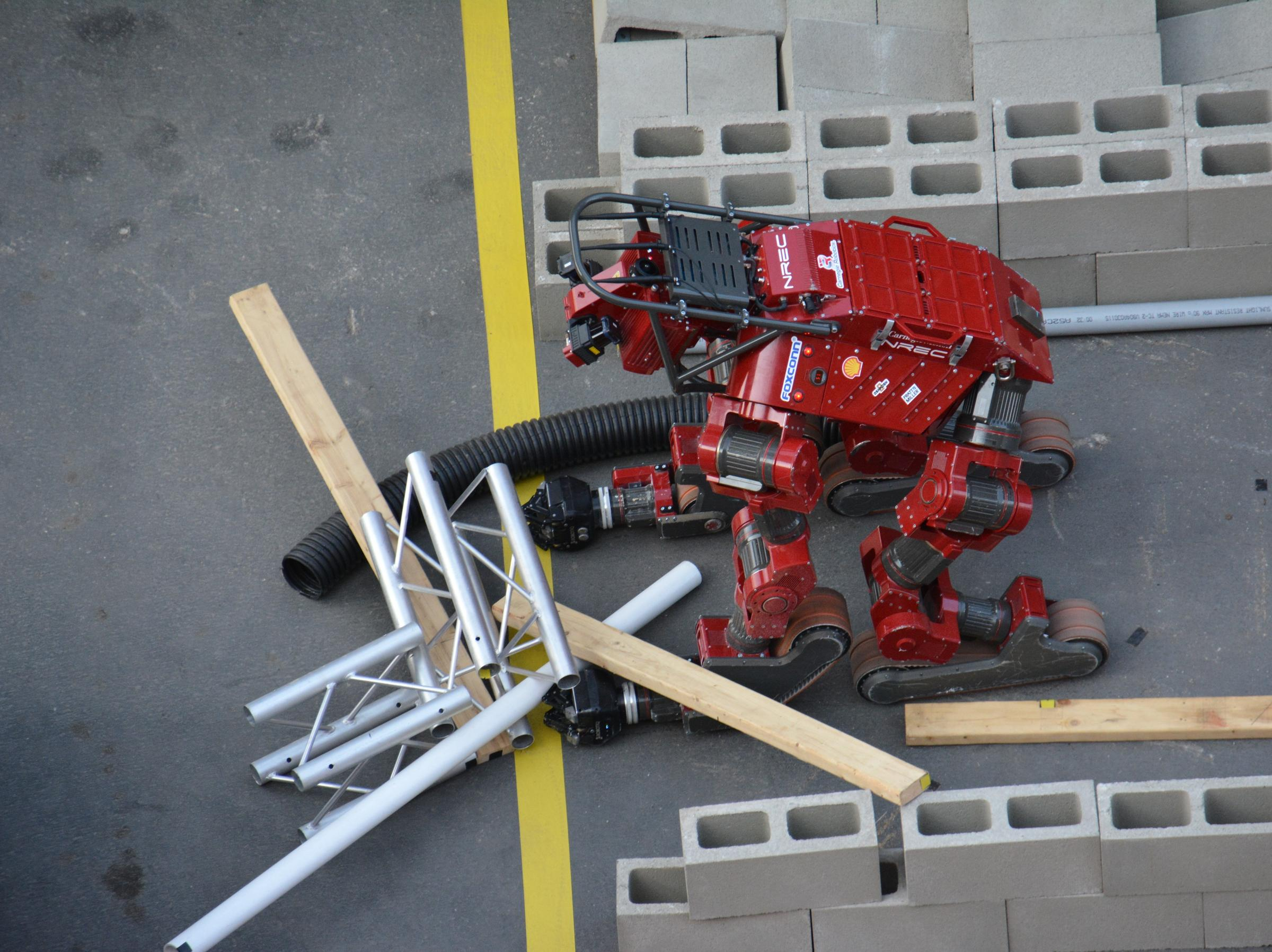 At DARPA Challenge, Robots (Slowly) Move Toward Better Disaster