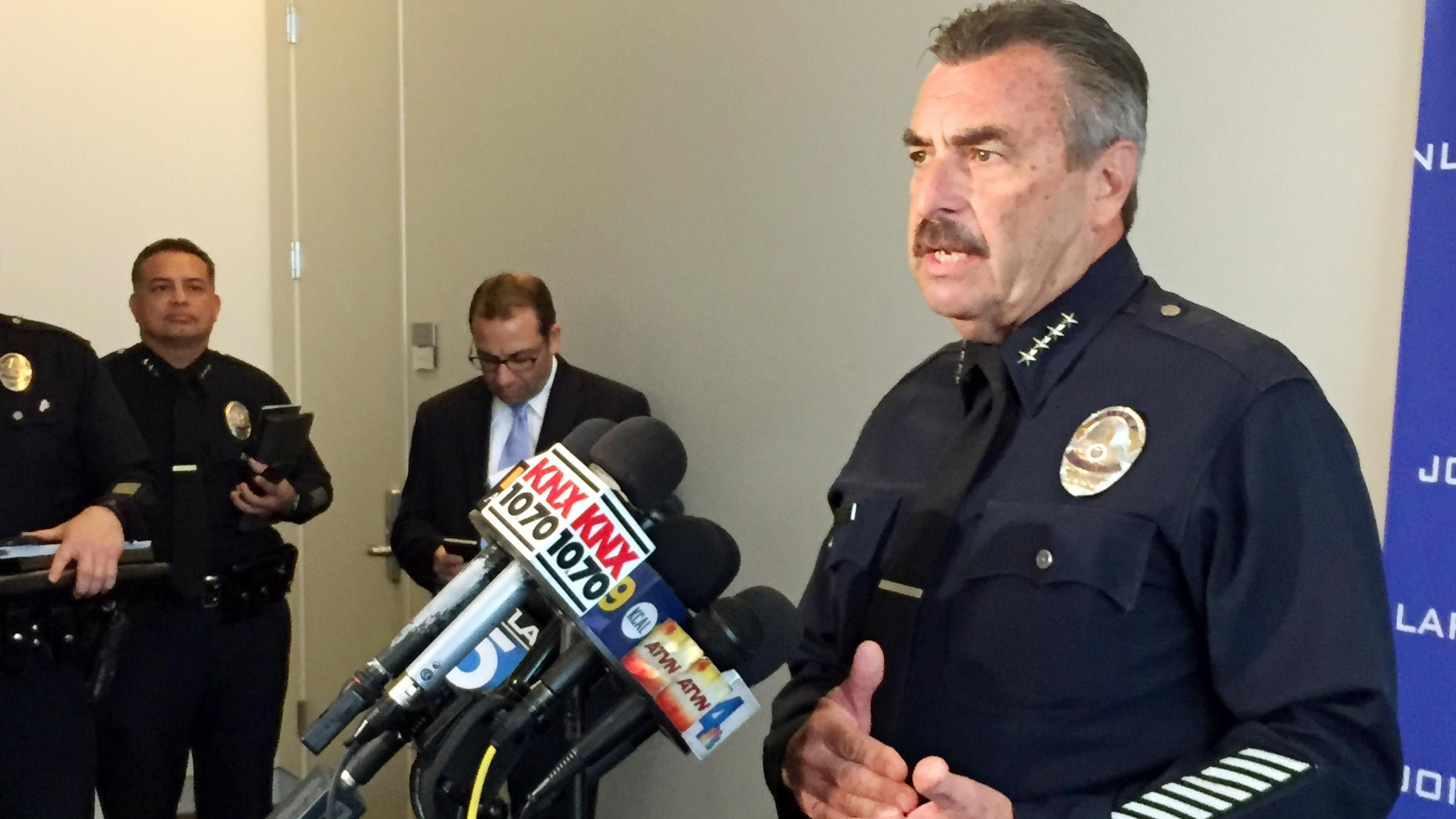 LAPD Reports Shooting 38 People In 2015