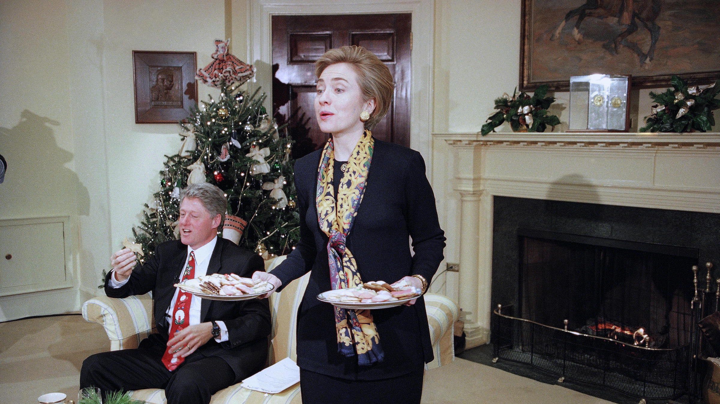 Hillary Clinton Christmas.Cooked Up After A Hillary Clinton Gaffe The First Spouse
