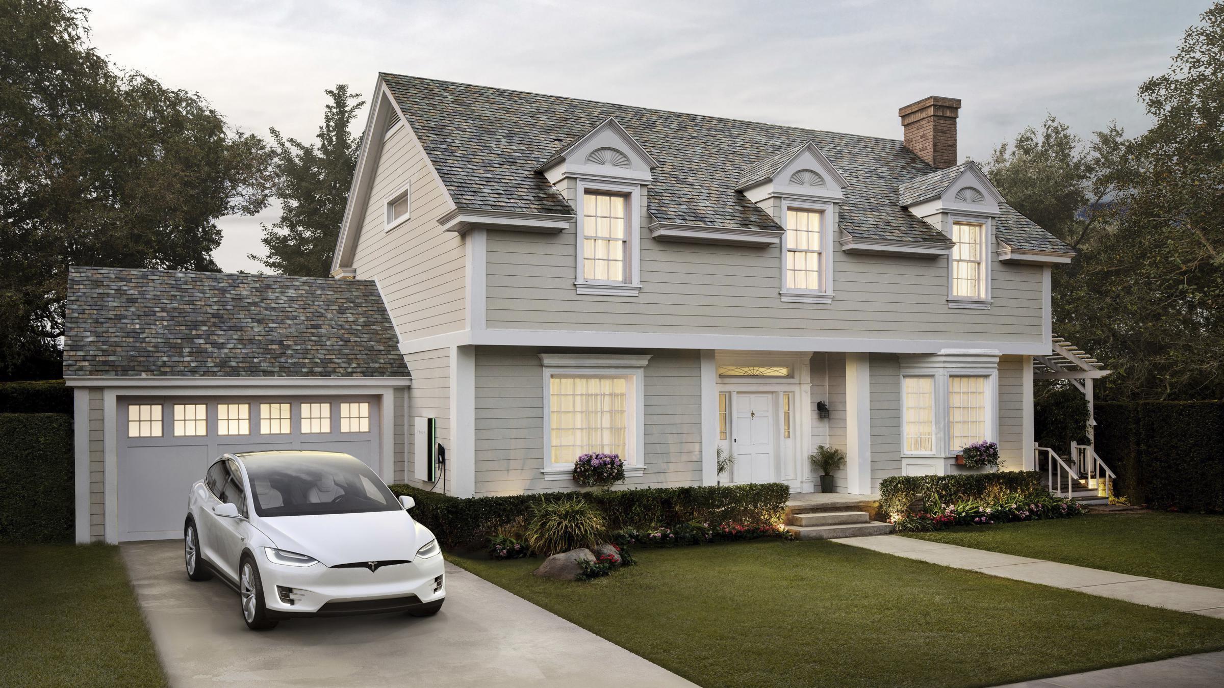 Tesla Roof Shingles >> Tesla Begins Taking Orders For Its Solar Energy Roof Tile Systems Kcur