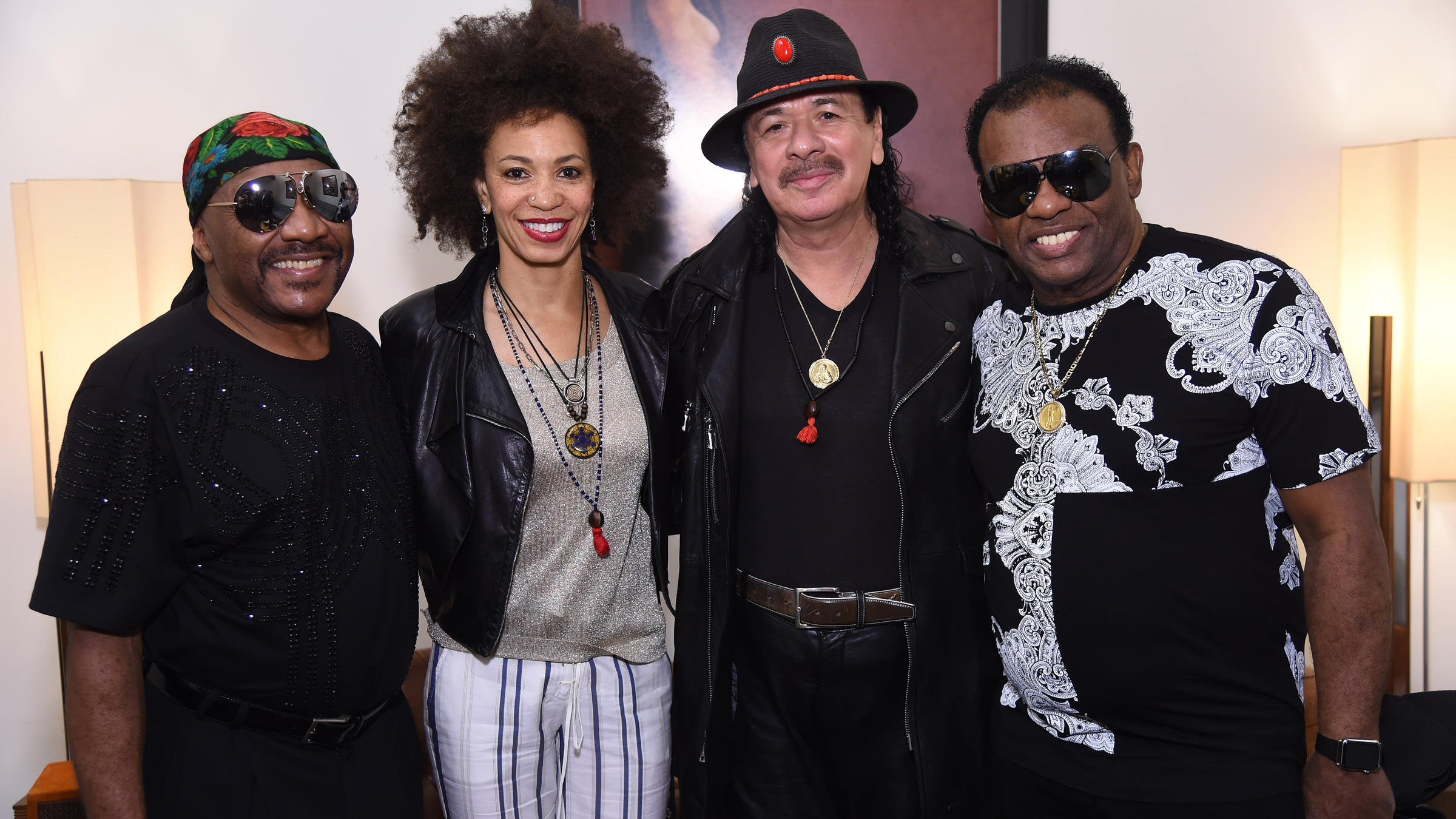 Santana And The Isley Brothers Come Together For 'Power Of