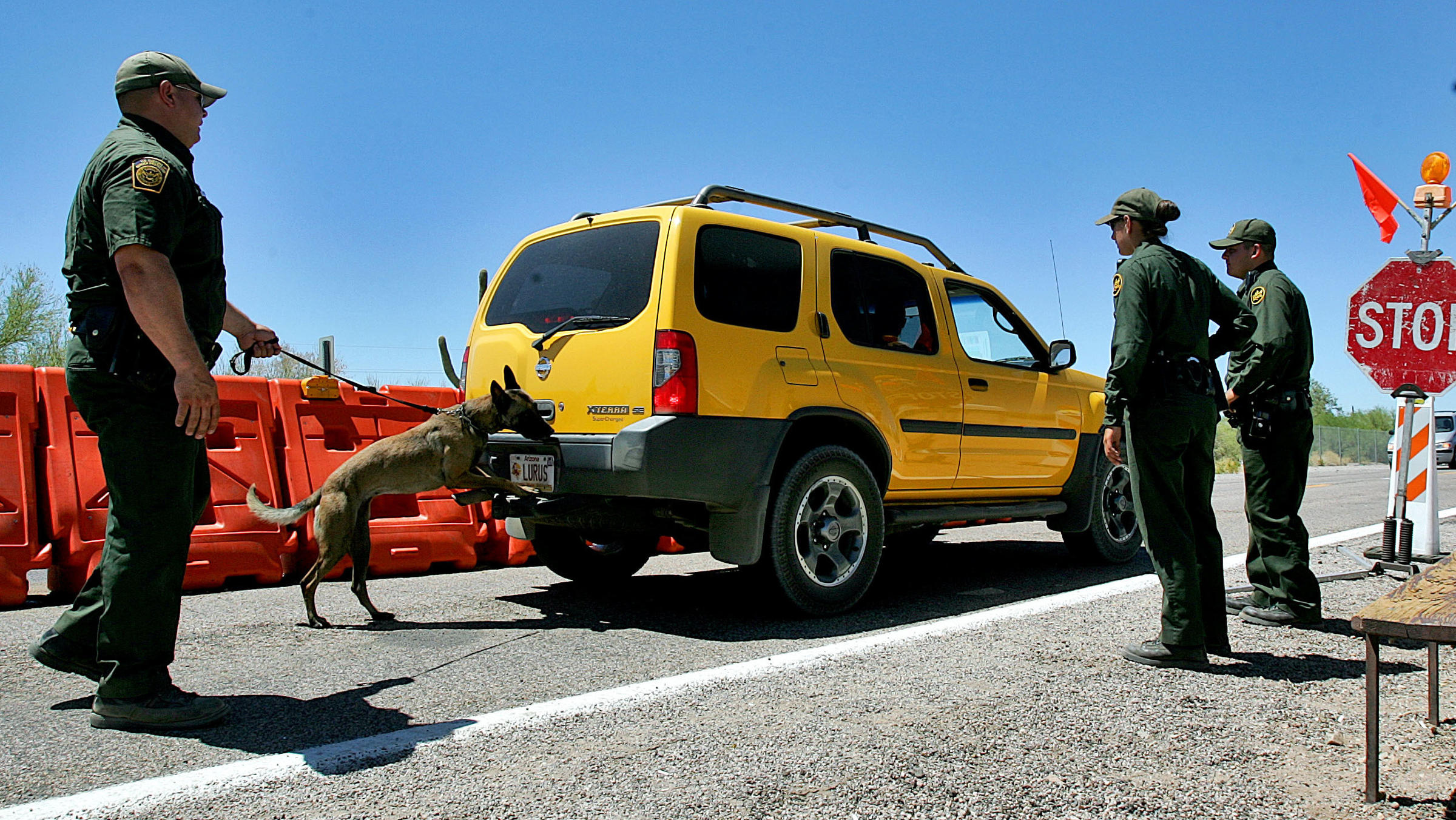 Border Patrol Says Checkpoints Will Remain Open During ...
