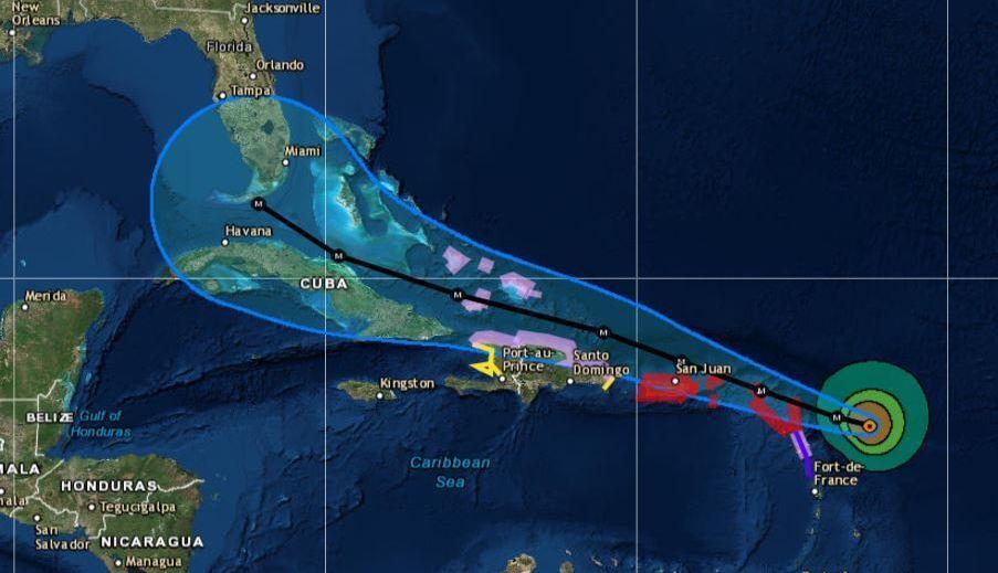 Hurricane Irma Makes First Landfall In Northeast Caribbean