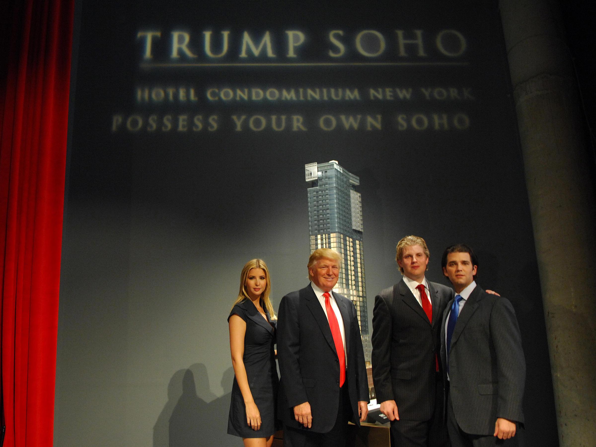 the trump organization subsidiaries