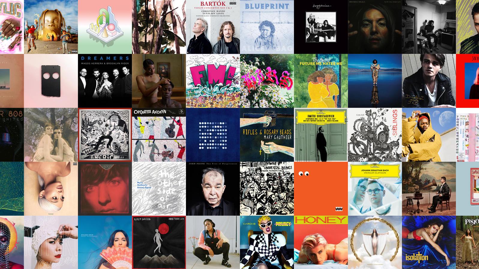 Npr 50 Best Albums 2019 Stream NPR Music's 50 Best Albums Of 2018 | NPR Illinois