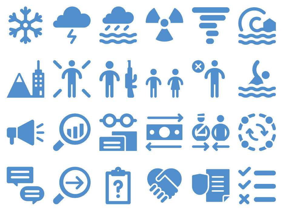 Can You Guess The Meaning Of These Humanitarian Icons? | WOSU Radio