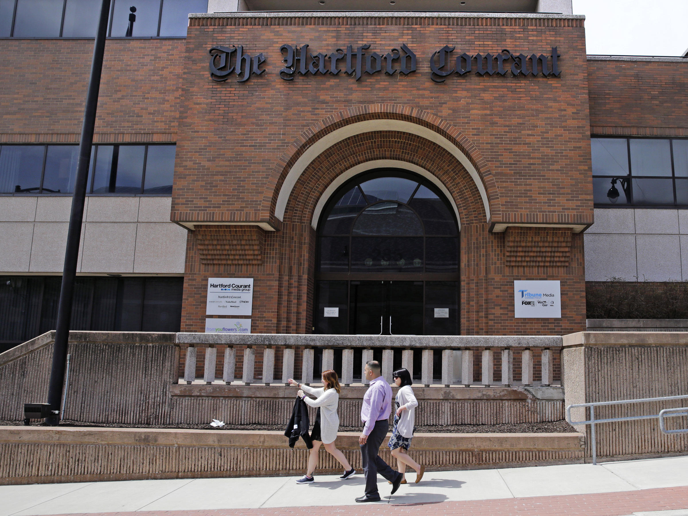 Hartford Courant' Journalists Petition To Unionize | KERA News