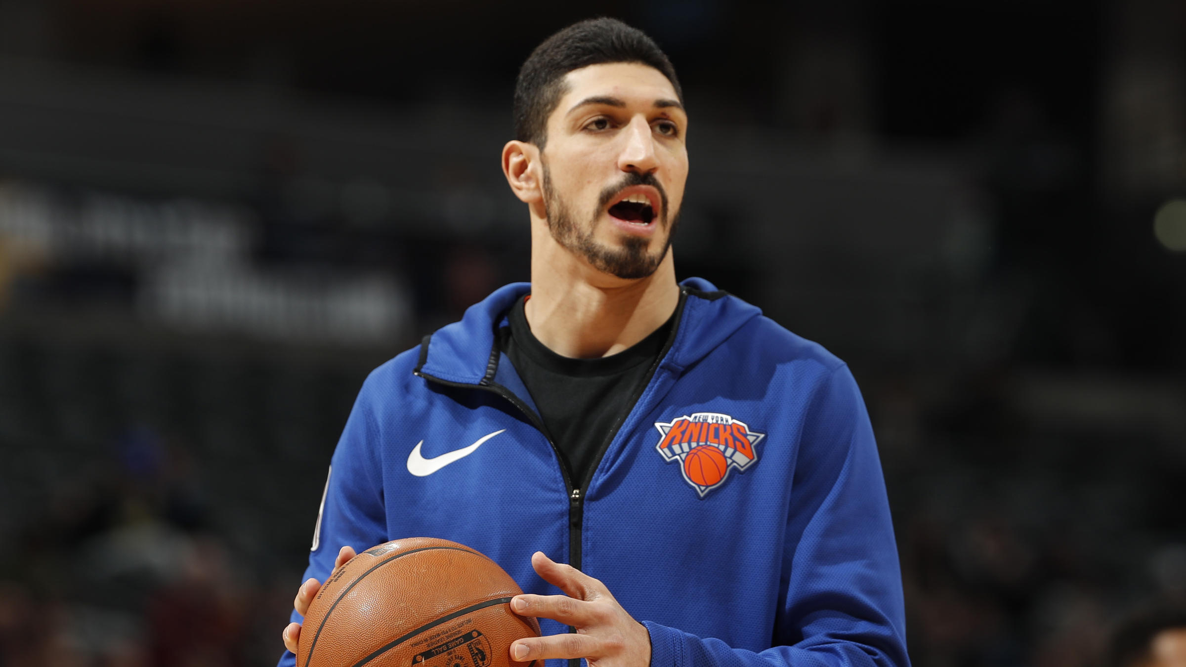 photograph relating to Knicks Printable Schedule known as A Critic Of Turkey, The Knicks Enes Kanter Speaks Out Regarding