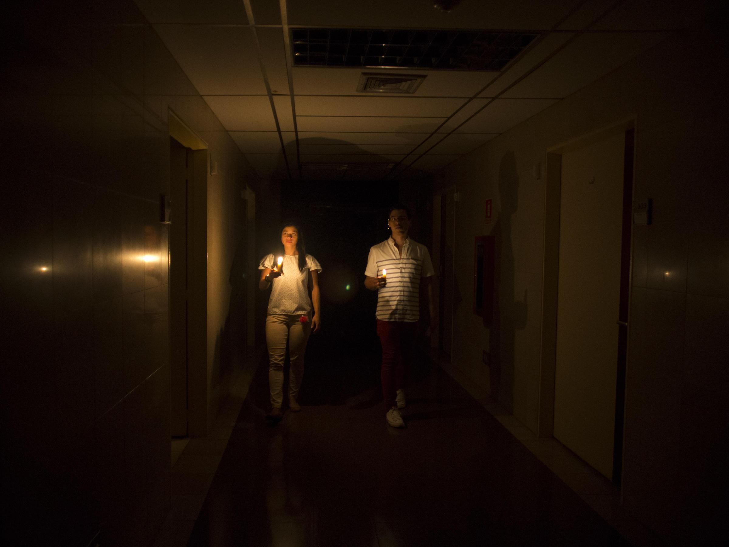 Blackout In Venezuela Leaves Its Leaders Casting Blame In