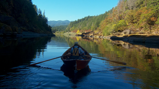 Running Oregon's Wild And Scenic Rogue River In A Classic