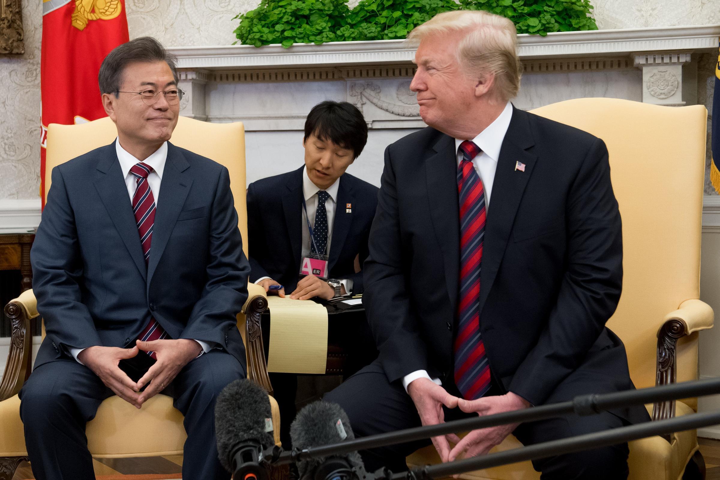 South Korean Leader Looks To Jump-Start U S -North Korea Talks After
