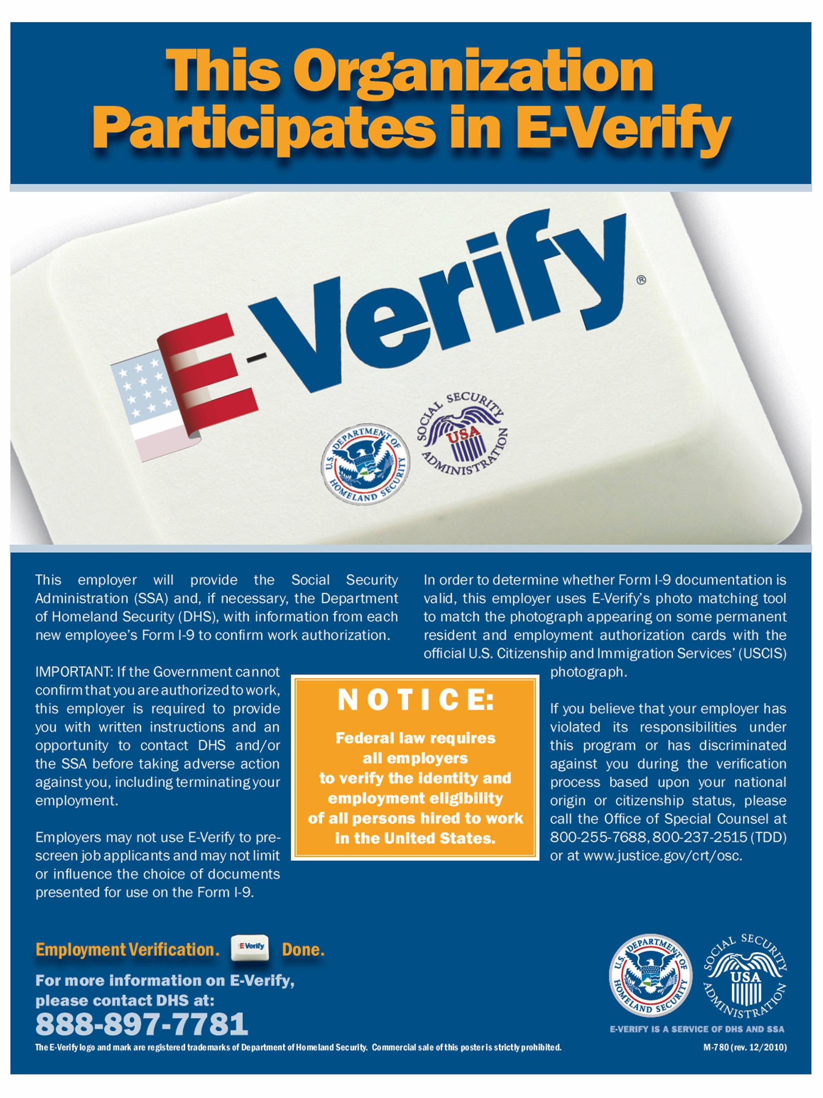E Verify Program >> Bill Would Put Immigration Verification System To The Test Kccu